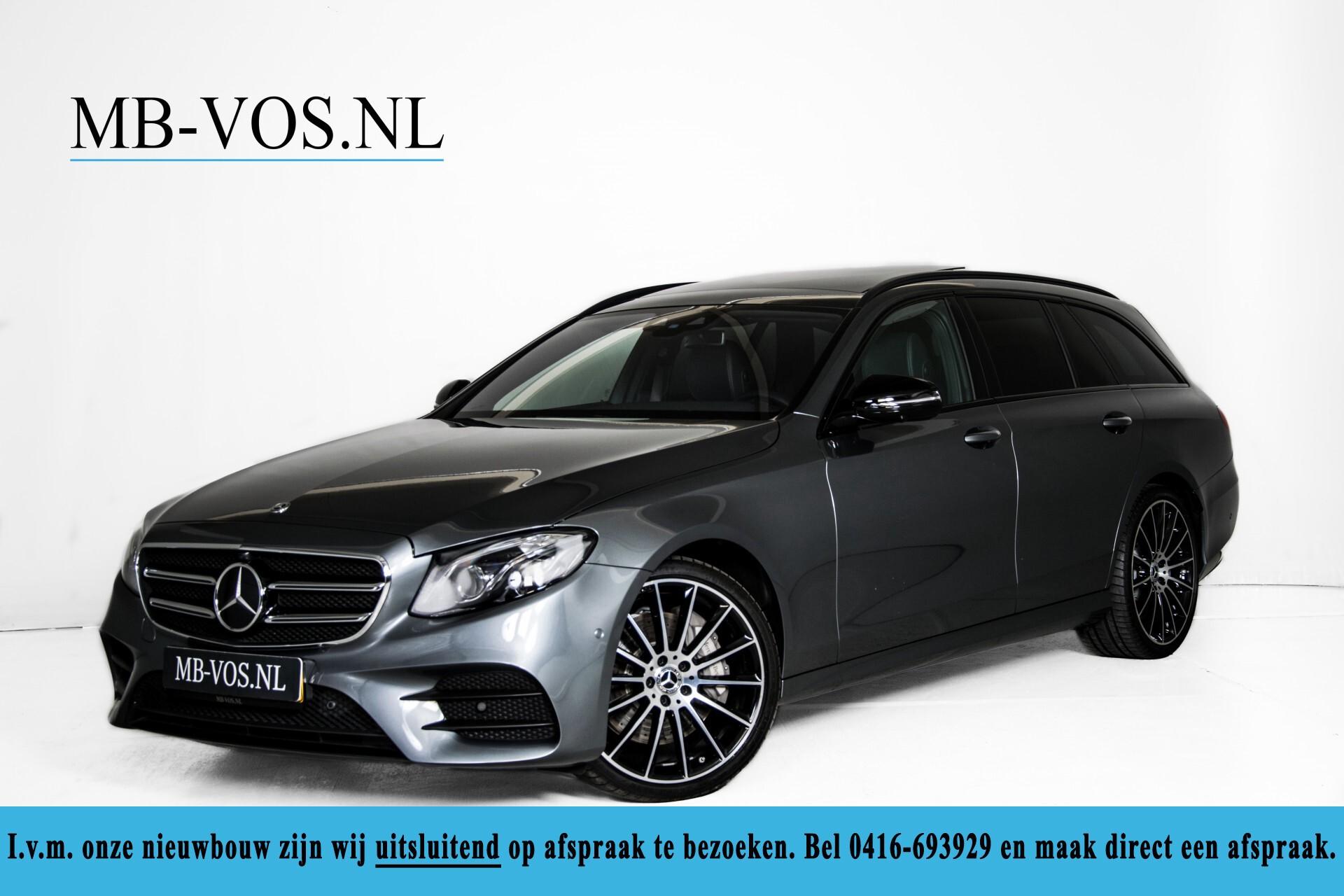 Mercedes-Benz E-Klasse Estate 450 4-M AMG Night Panorama/Rij-assist/Burmester/Mem/360/Widescreen Aut9 Foto 1