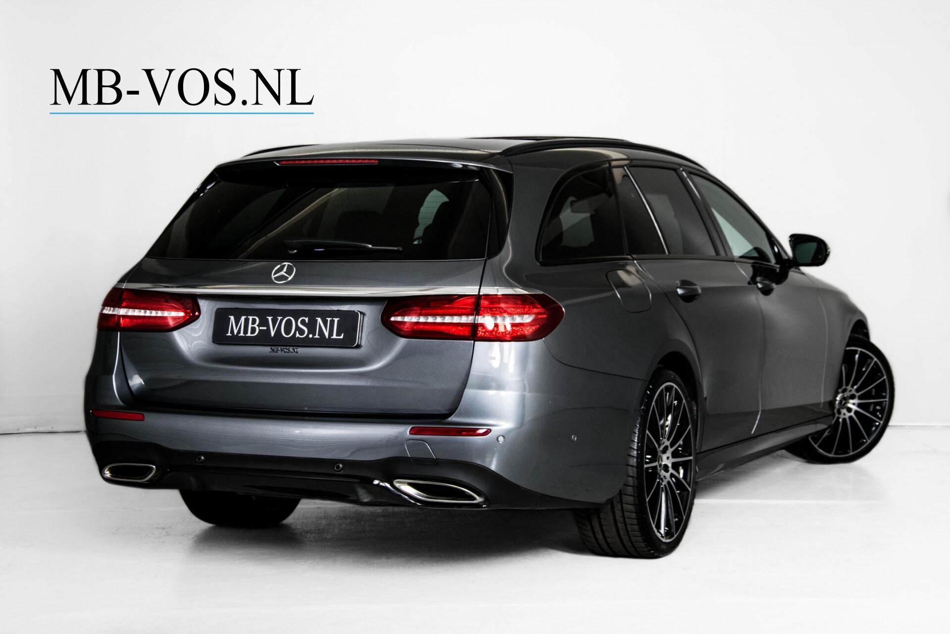 Mercedes-Benz E-Klasse Estate 450 4-M AMG Night Panorama/Rij-assist/Burmester/Mem/360/Widescreen Aut9 Foto 2