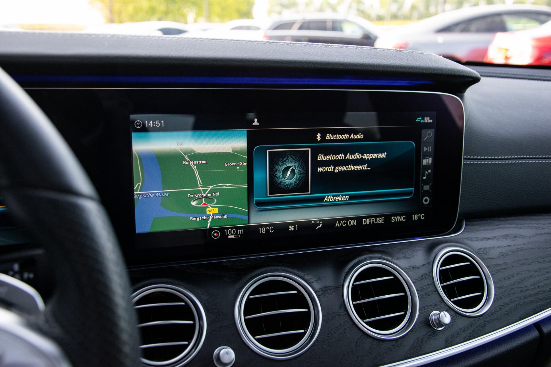 Mercedes-Benz E-Klasse Estate 450 4-M AMG Night Panorama/Rij-assist/Burmester/Mem/360/Widescreen Aut9 Foto 23
