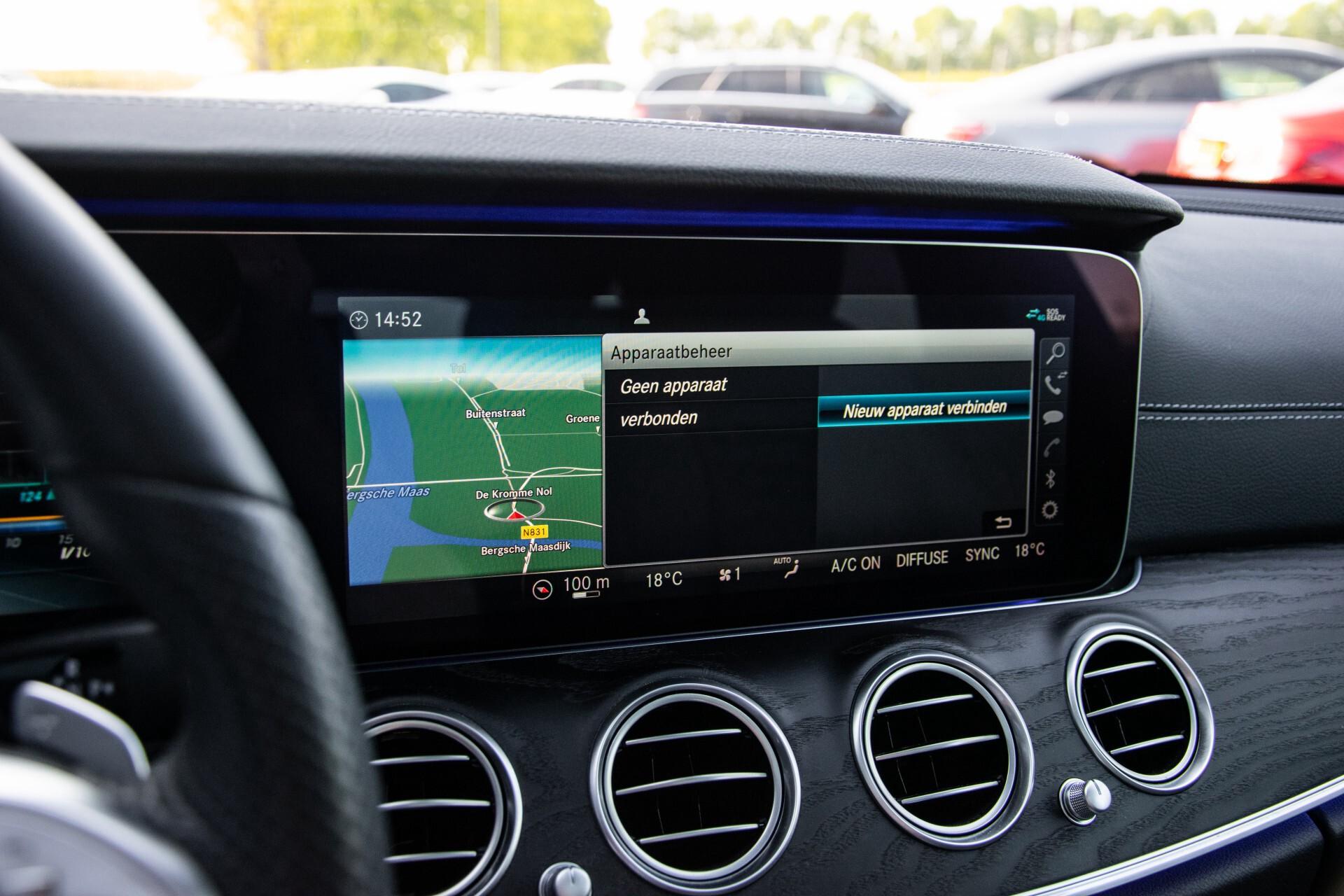 Mercedes-Benz E-Klasse Estate 450 4-M AMG Night Panorama/Rij-assist/Burmester/Mem/360/Widescreen Aut9 Foto 25