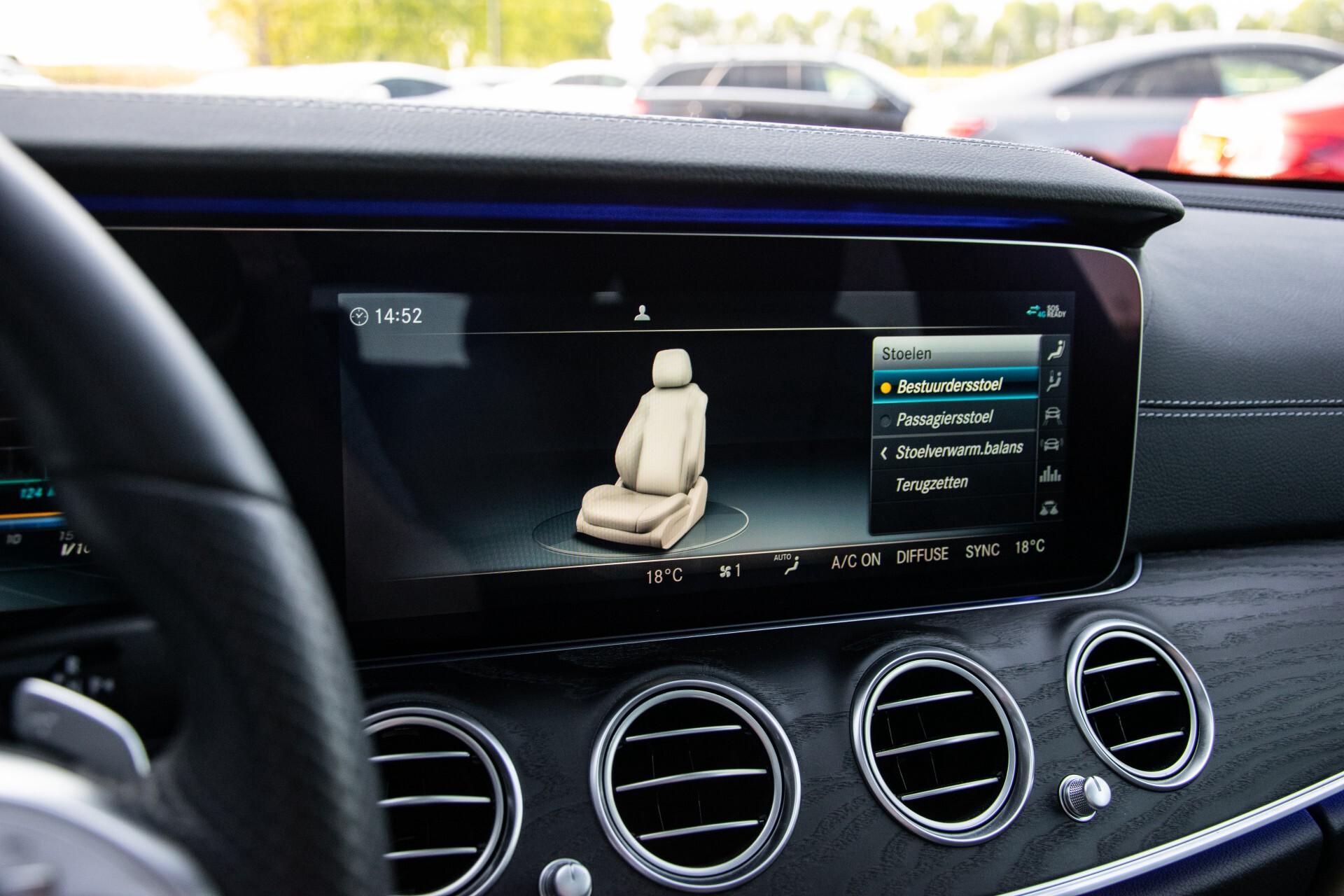 Mercedes-Benz E-Klasse Estate 450 4-M AMG Night Panorama/Rij-assist/Burmester/Mem/360/Widescreen Aut9 Foto 27