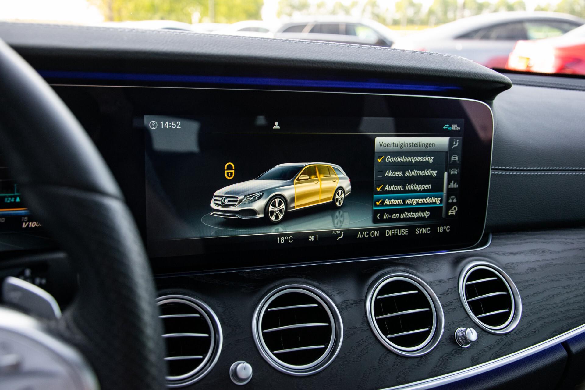 Mercedes-Benz E-Klasse Estate 450 4-M AMG Night Panorama/Rij-assist/Burmester/Mem/360/Widescreen Aut9 Foto 31
