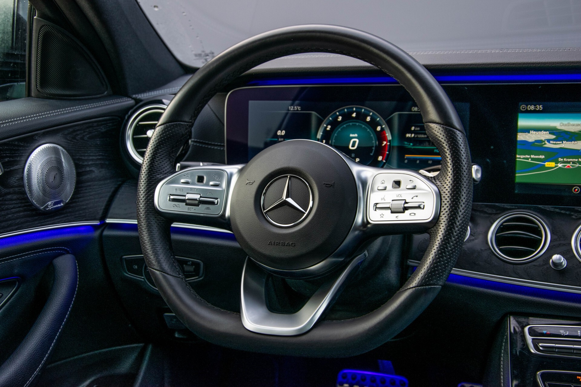 Mercedes-Benz E-Klasse Estate 450 4-M AMG Night Panorama/Rij-assist/Burmester/Mem/360/Widescreen Aut9 Foto 9
