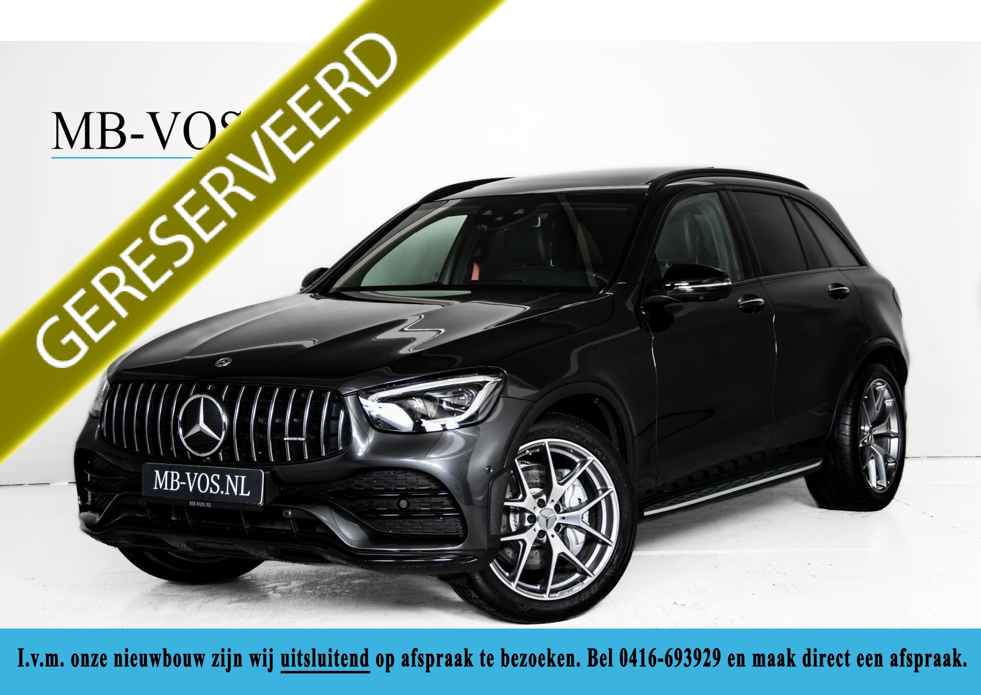 Mercedes-Benz GLC 43 AMG 4-M Night Pano/Sportuitlaat/Keyless/Distronic/Widescreen/MBUX/Trekhaak Aut9 Foto 1