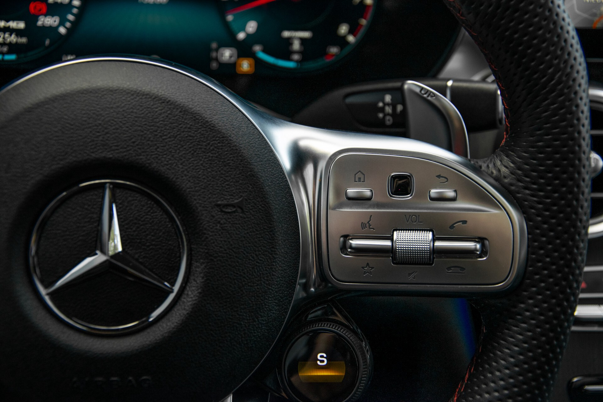 Mercedes-Benz GLC 43 AMG 4-M Night Pano/Sportuitlaat/Keyless/Distronic/Widescreen/MBUX/Trekhaak Aut9 Foto 18