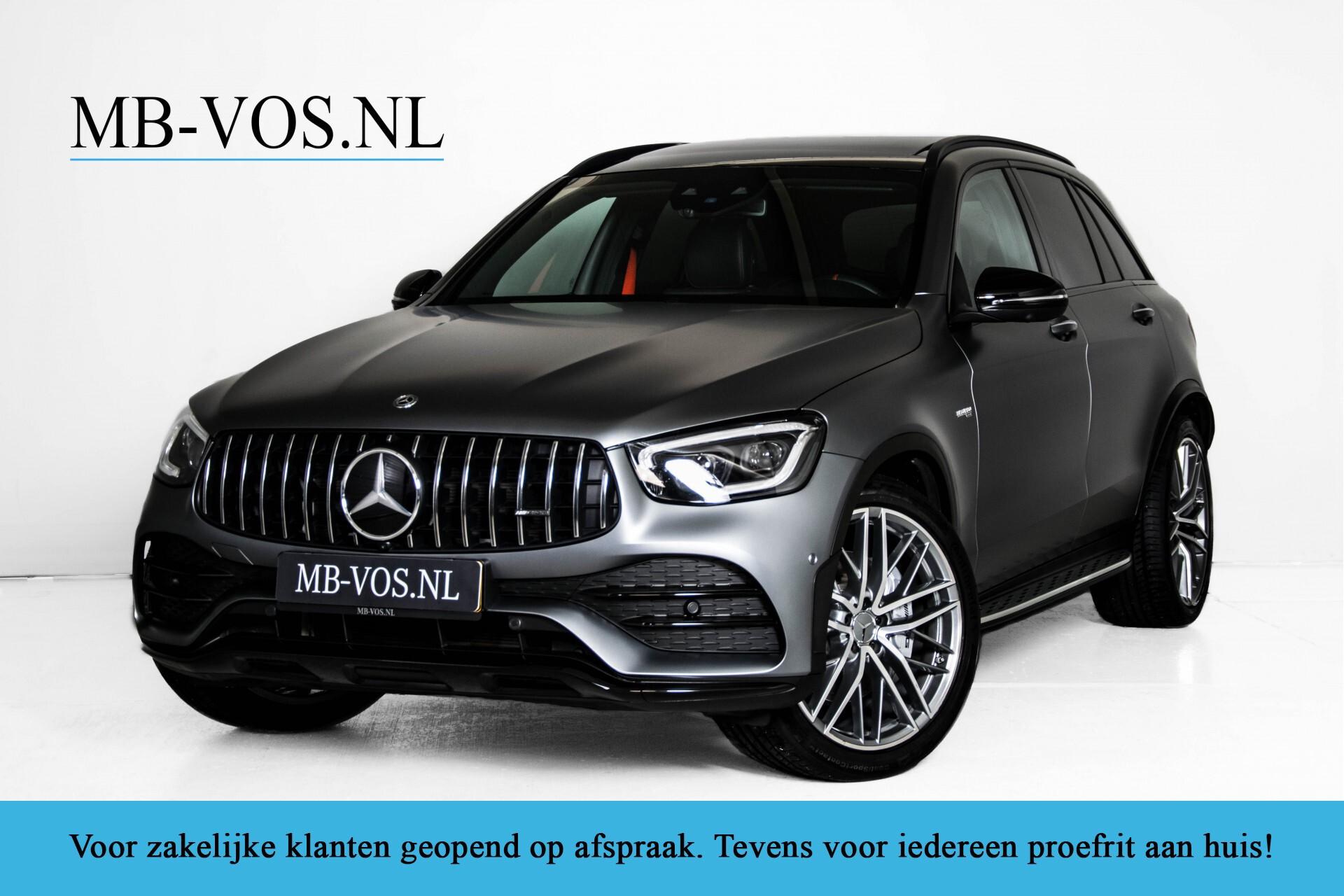 "Mercedes-Benz GLC 43 AMG 4M Night Pano/Sportuitlaat/Keyless/Distronic/Widescreen/MBUX/Burmester/21""/Trekhaak Aut9 Foto 1"