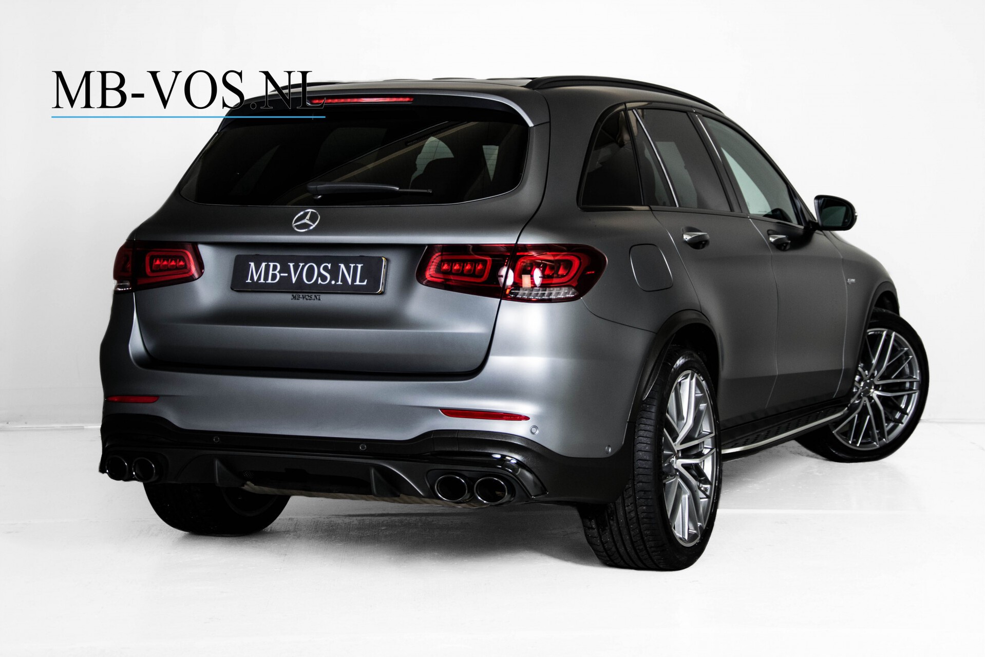 "Mercedes-Benz GLC 43 AMG 4M Night Pano/Sportuitlaat/Keyless/Distronic/Widescreen/MBUX/Burmester/21""/Trekhaak Aut9 Foto 2"