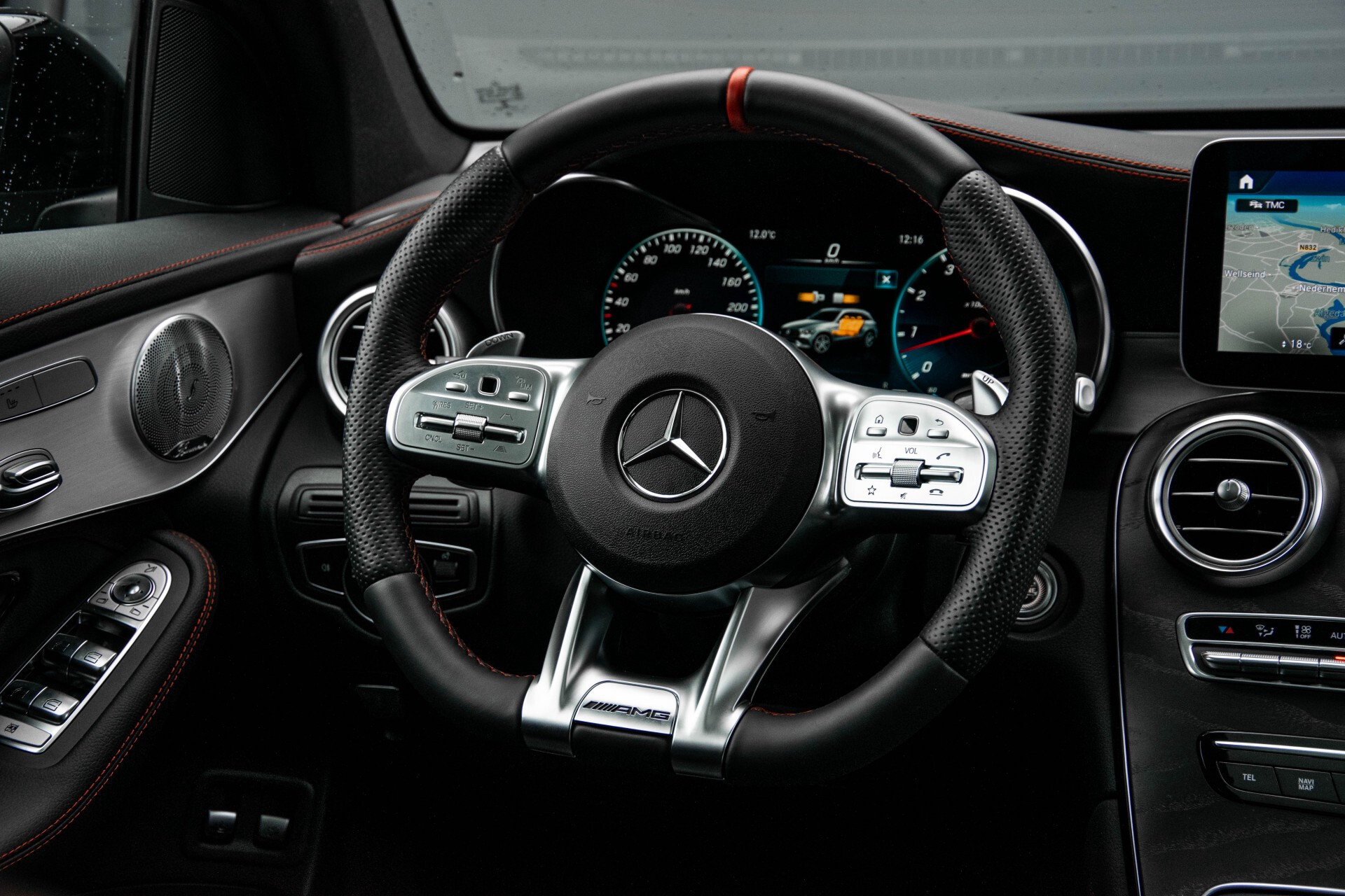 "Mercedes-Benz GLC 43 AMG 4M Night Pano/Sportuitlaat/Keyless/Distronic/Widescreen/MBUX/Burmester/21""/Trekhaak Aut9 Foto 6"