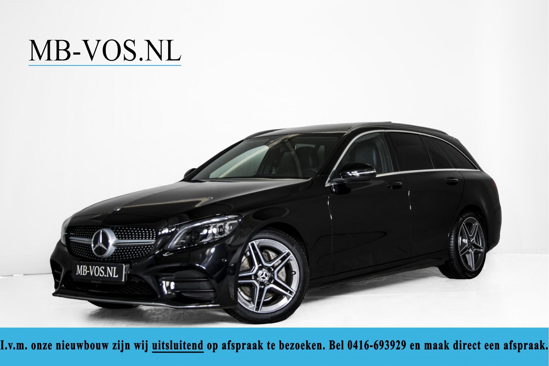 Mercedes-Benz C-Klasse Estate 220 d AMG Panorama/Assistentiepakket/Wegkl-trekhaak/DAB/Ambient/Leer/MULTIBEAM Aut9 Foto 1