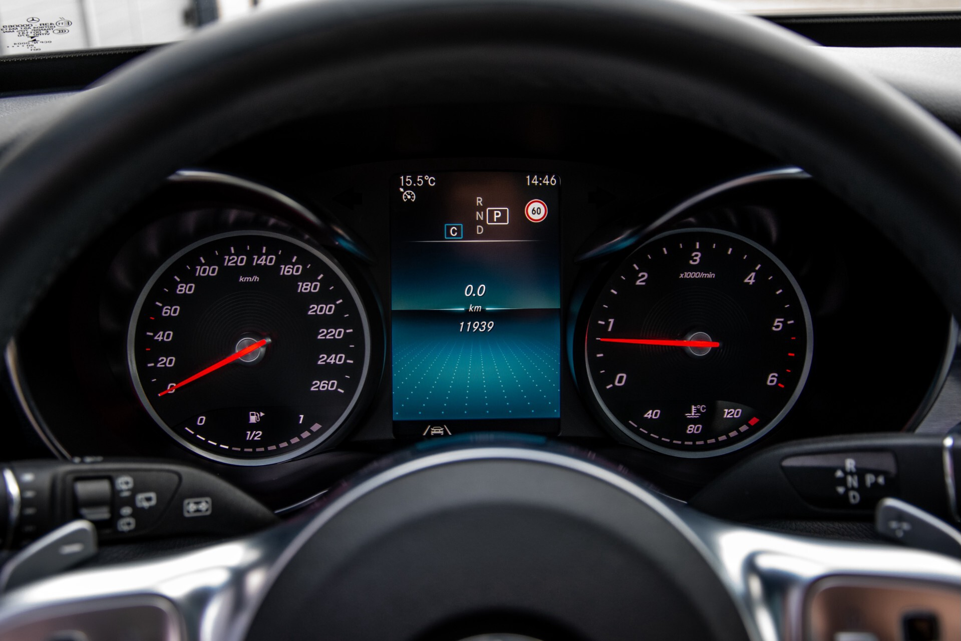 Mercedes-Benz C-Klasse Estate 220 d AMG Panorama/Assistentiepakket/Wegkl-trekhaak/DAB/Ambient/Leer/MULTIBEAM Aut9 Foto 13