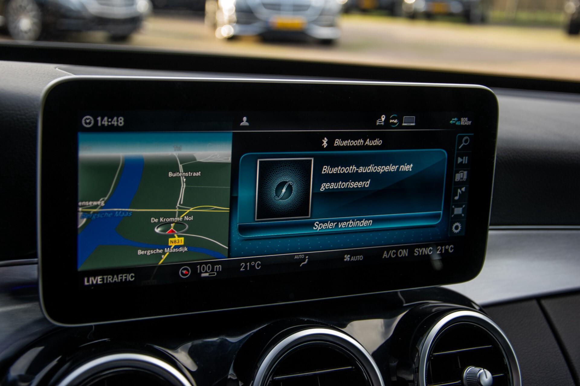 Mercedes-Benz C-Klasse Estate 220 d AMG Panorama/Assistentiepakket/Wegkl-trekhaak/DAB/Ambient/Leer/MULTIBEAM Aut9 Foto 30