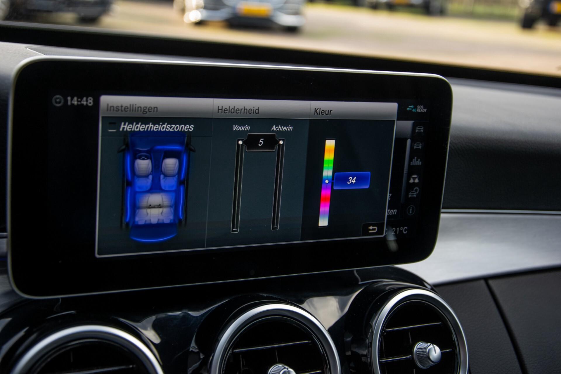 Mercedes-Benz C-Klasse Estate 220 d AMG Panorama/Assistentiepakket/Wegkl-trekhaak/DAB/Ambient/Leer/MULTIBEAM Aut9 Foto 38