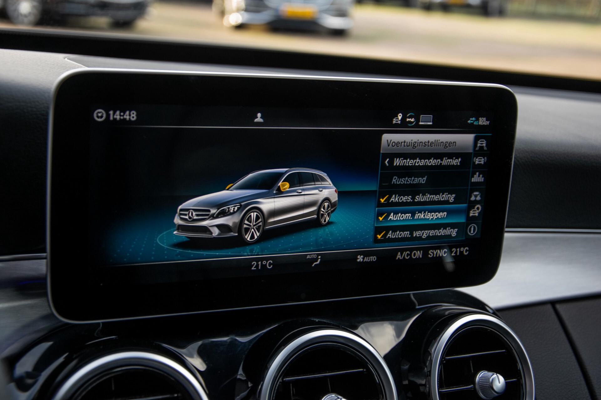 Mercedes-Benz C-Klasse Estate 220 d AMG Panorama/Assistentiepakket/Wegkl-trekhaak/DAB/Ambient/Leer/MULTIBEAM Aut9 Foto 40