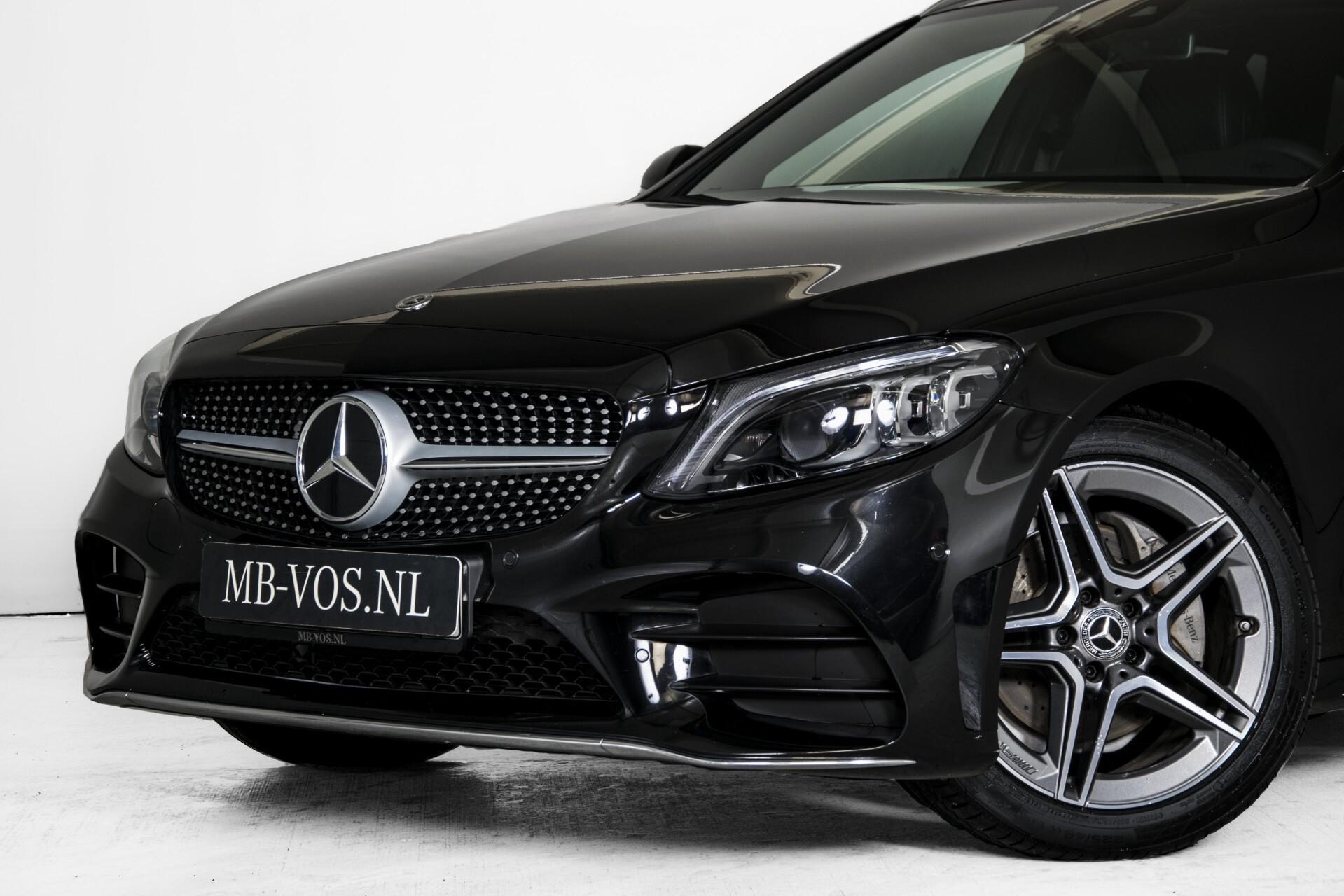 Mercedes-Benz C-Klasse Estate 220 d AMG Panorama/Assistentiepakket/Wegkl-trekhaak/DAB/Ambient/Leer/MULTIBEAM Aut9 Foto 52
