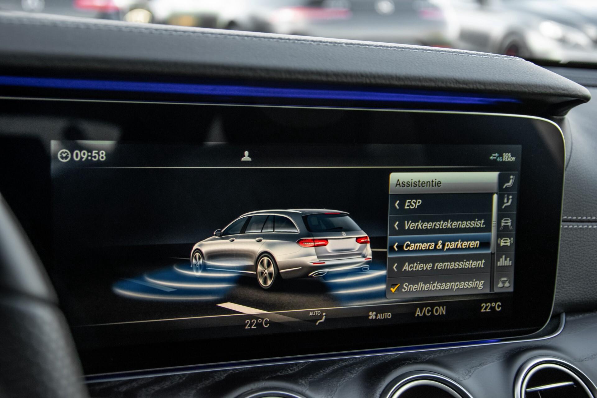 Mercedes-Benz E-Klasse Estate 450 4-M AMG Night Standkachel/Rij-assist/Keyless/Trhk/Burmester/Mem/360/Widescreen Aut9 Foto 28