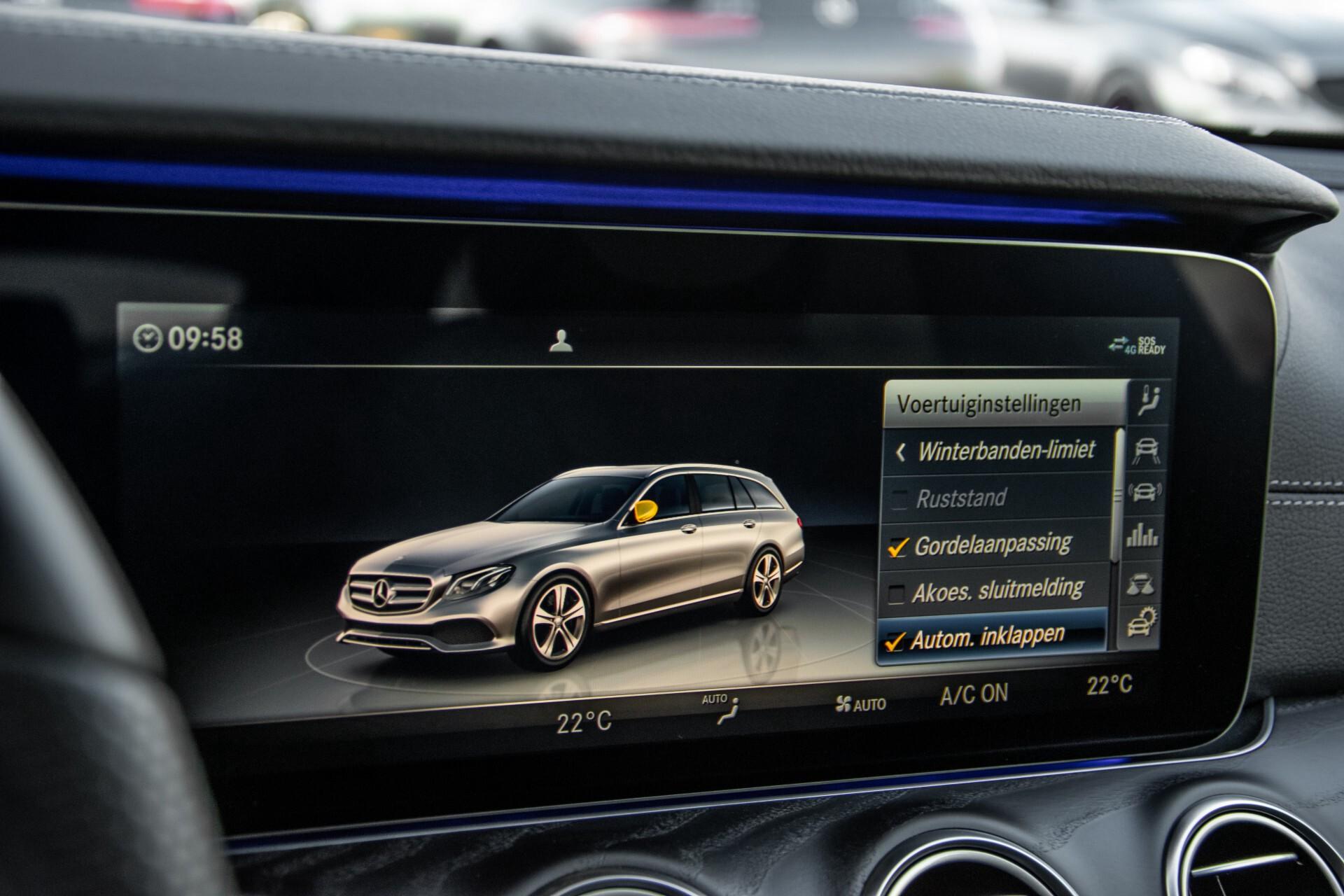 Mercedes-Benz E-Klasse Estate 450 4-M AMG Night Standkachel/Rij-assist/Keyless/Trhk/Burmester/Mem/360/Widescreen Aut9 Foto 32