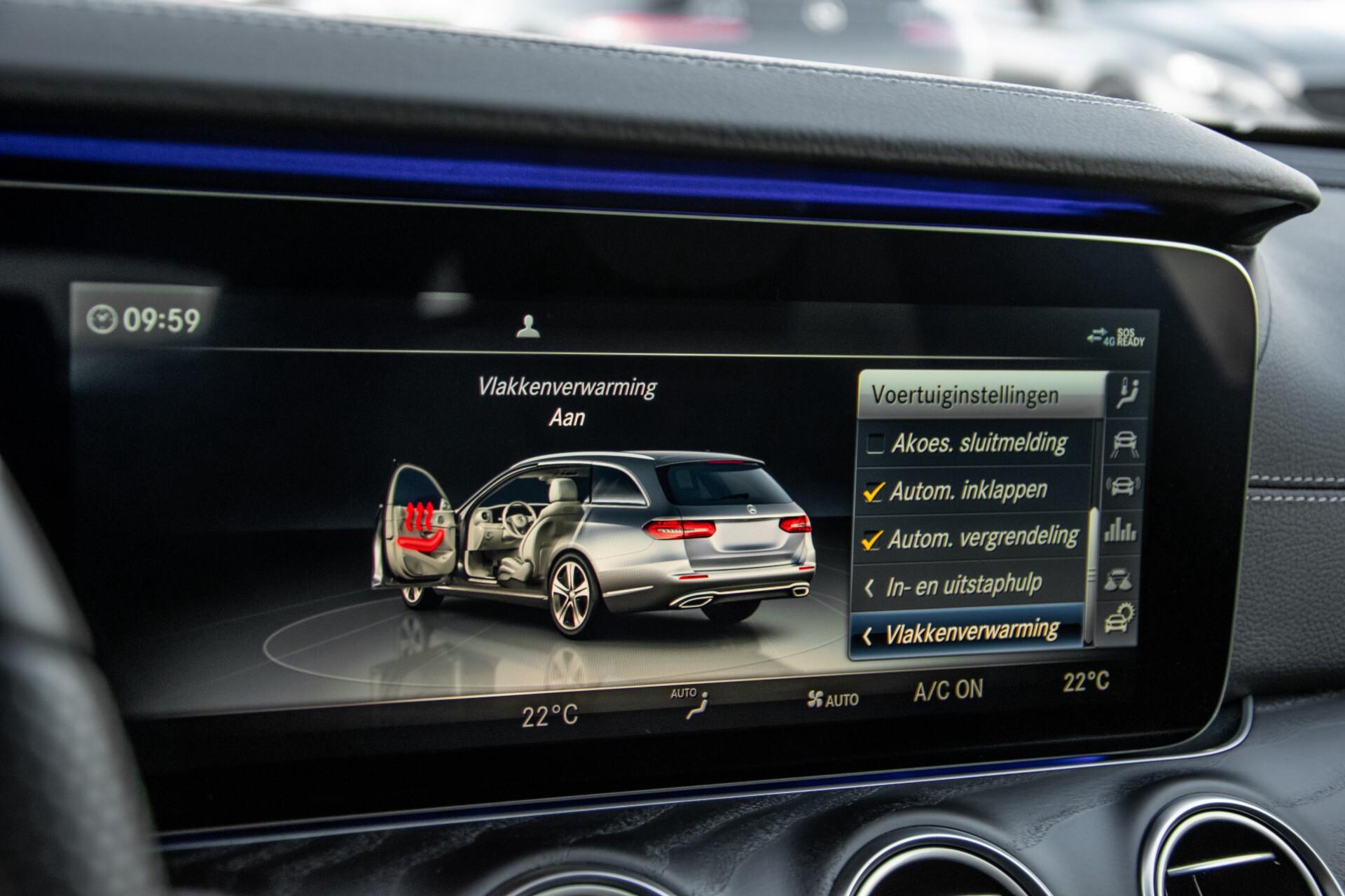 Mercedes-Benz E-Klasse Estate 450 4-M AMG Night Standkachel/Rij-assist/Keyless/Trhk/Burmester/Mem/360/Widescreen Aut9 Foto 36