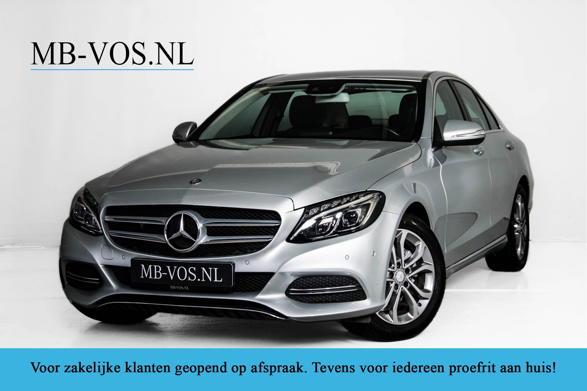 Mercedes-Benz C-Klasse 180 Bluetec Lease Edition Intelligent Light System/Cruise Control/Navi Foto 1