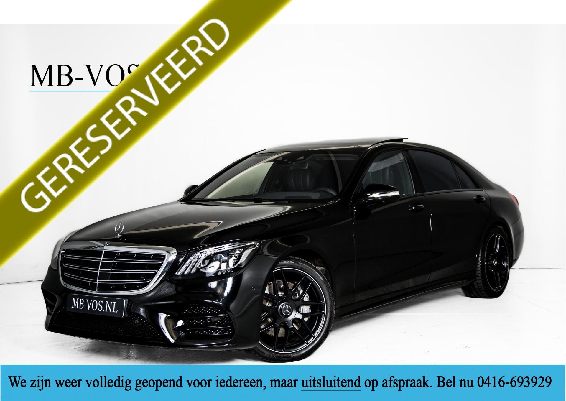 Mercedes-Benz S-Klasse 400d 4-M Lang AMG Night Massage/Panorama/Rij-assist/Nappa/Keyless Aut9 Foto 1
