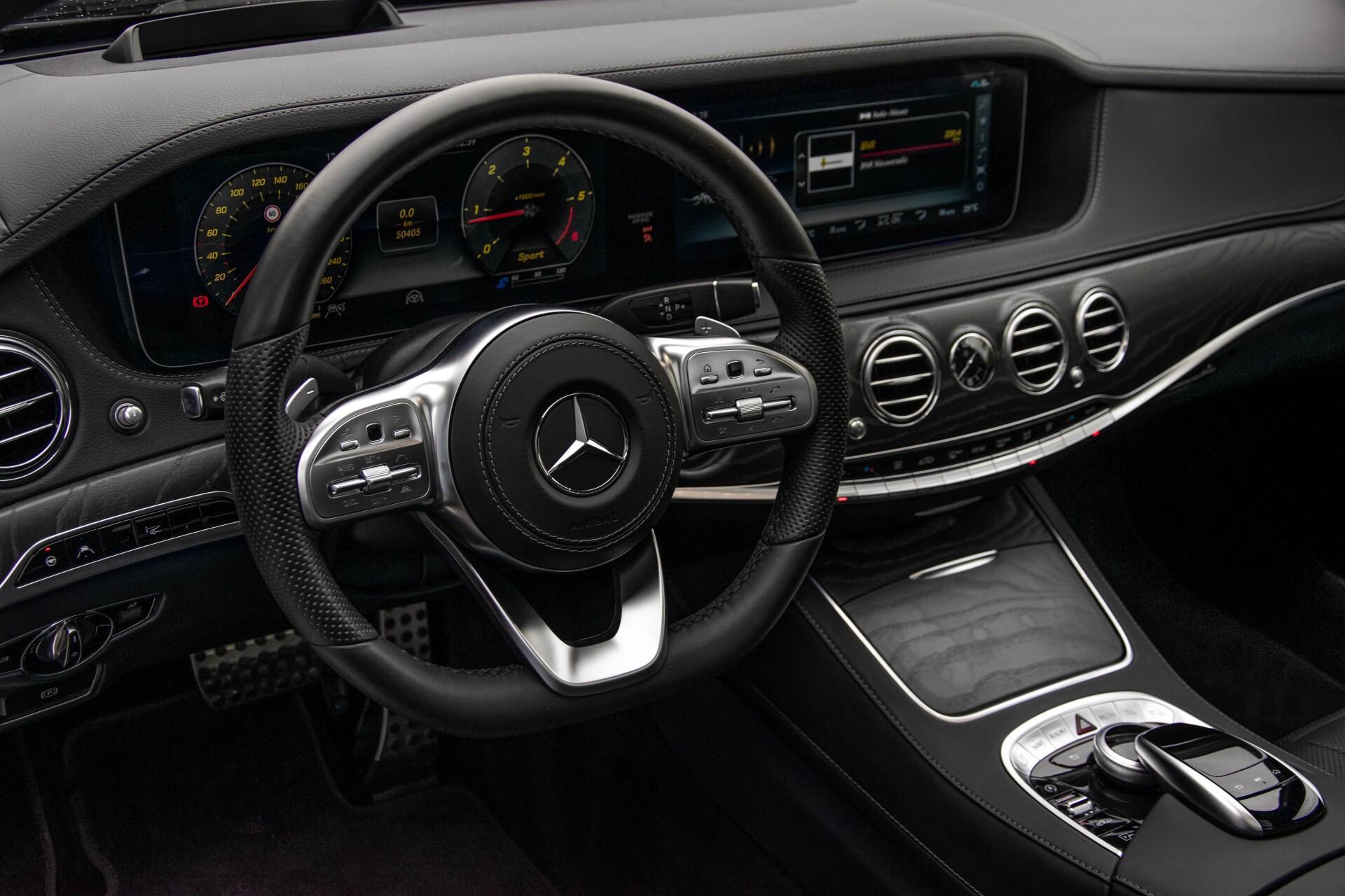 Mercedes-Benz S-Klasse 400d 4-M Lang AMG Night Massage/Panorama/Rij-assist/Nappa/Keyless Aut9 Foto 23