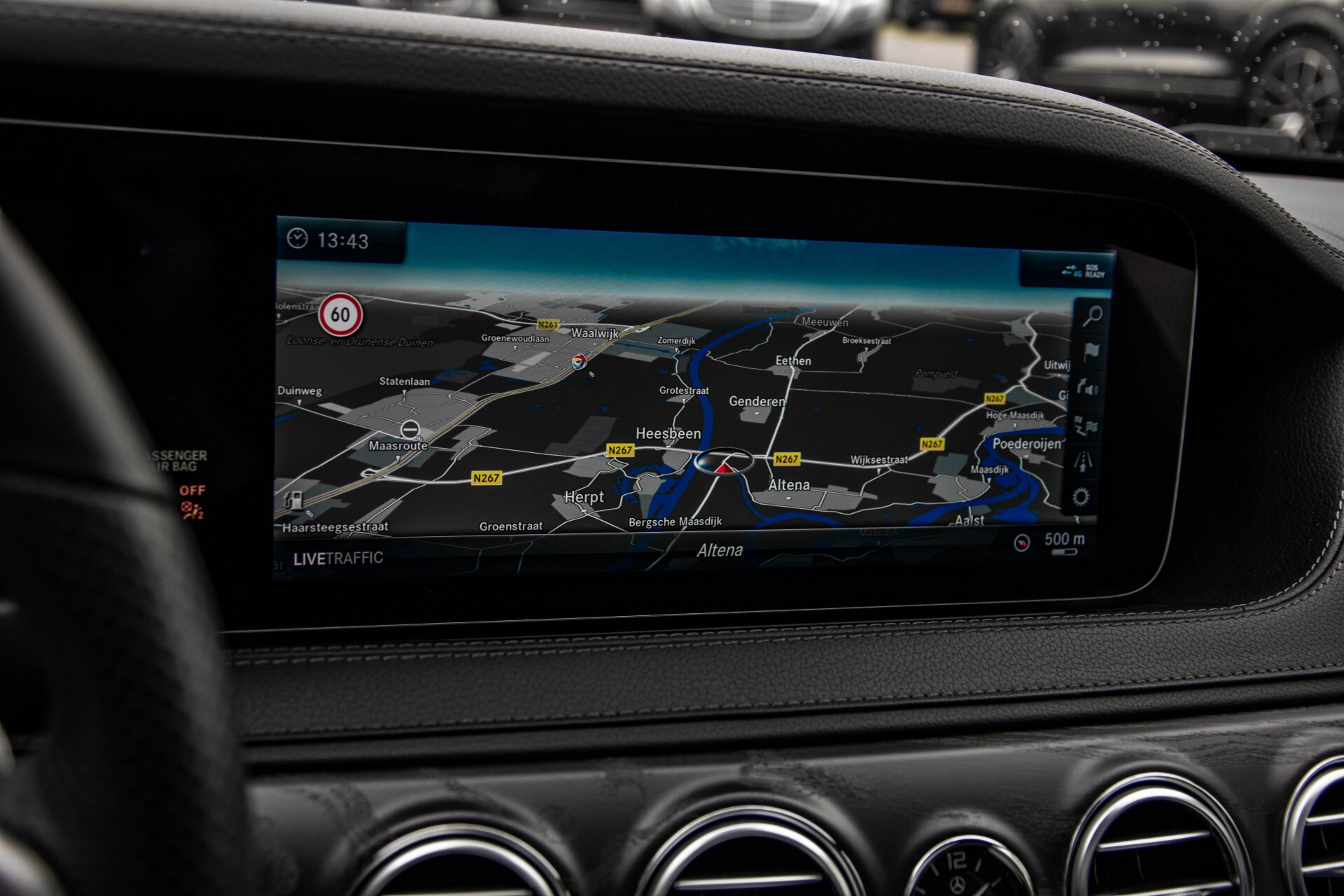 Mercedes-Benz S-Klasse 400d 4-M Lang AMG Night Massage/Panorama/Rij-assist/Nappa/Keyless Aut9 Foto 30