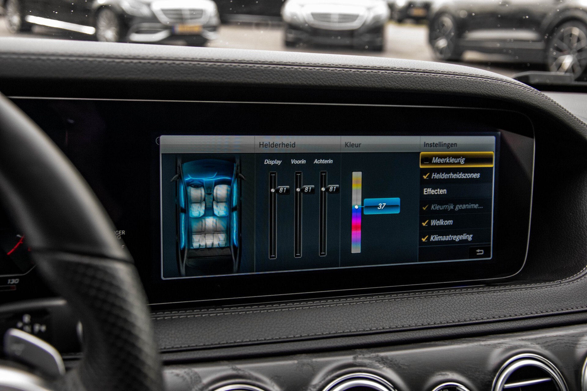 Mercedes-Benz S-Klasse 400d 4-M Lang AMG Night Massage/Panorama/Rij-assist/Nappa/Keyless Aut9 Foto 36