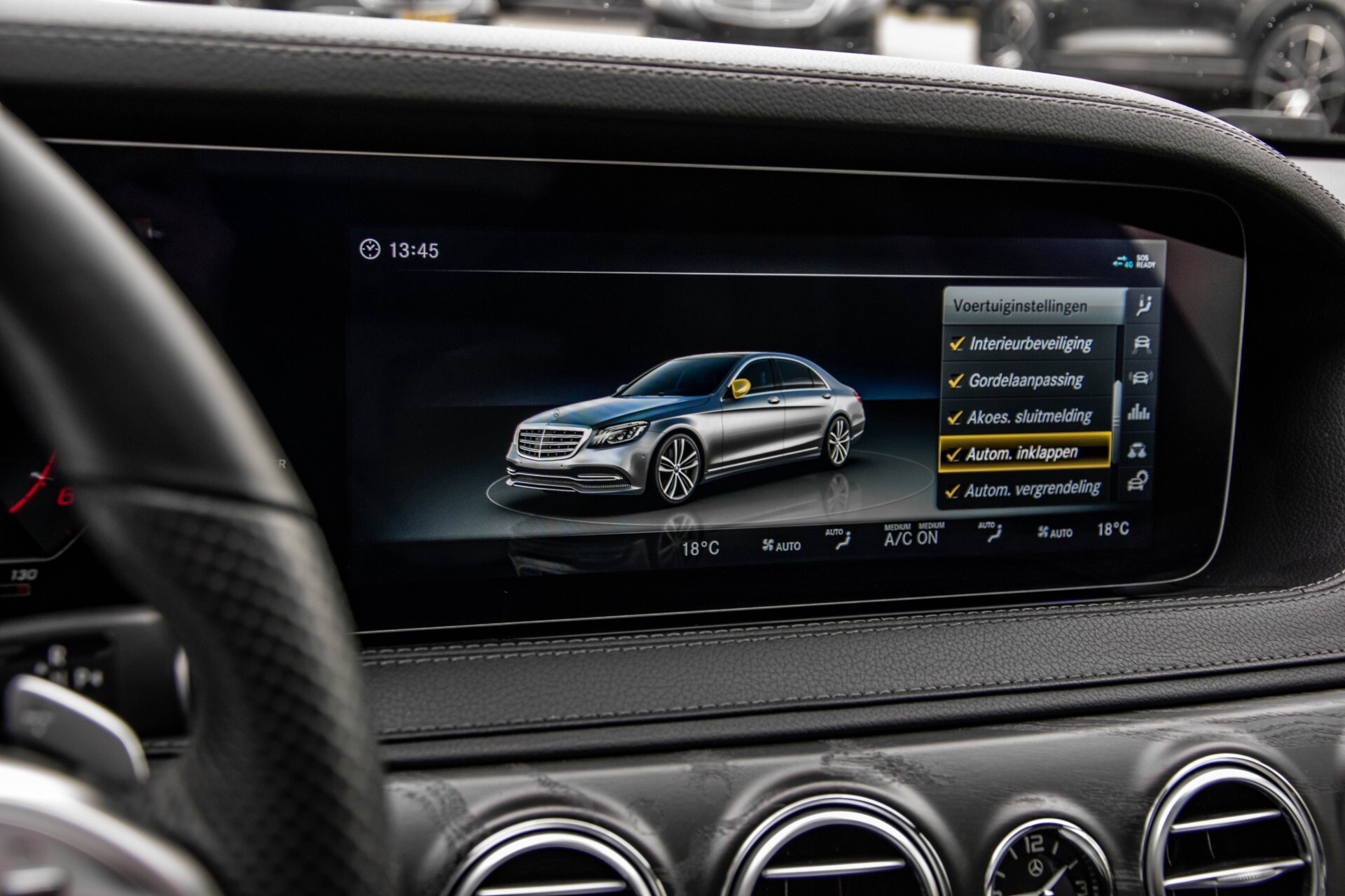 Mercedes-Benz S-Klasse 400d 4-M Lang AMG Night Massage/Panorama/Rij-assist/Nappa/Keyless Aut9 Foto 38
