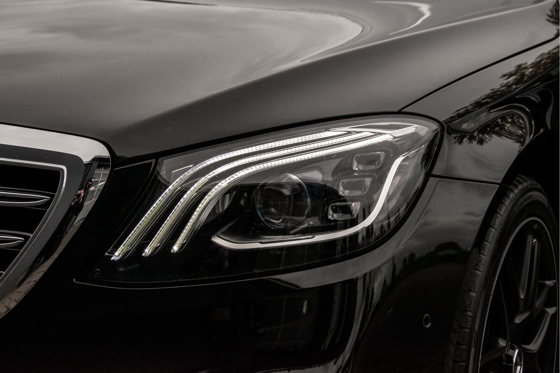 Mercedes-Benz S-Klasse 400d 4M Lang AMG Night Massage/Panorama/Rij-assist/Nappa/Keyless Aut9 Foto 55