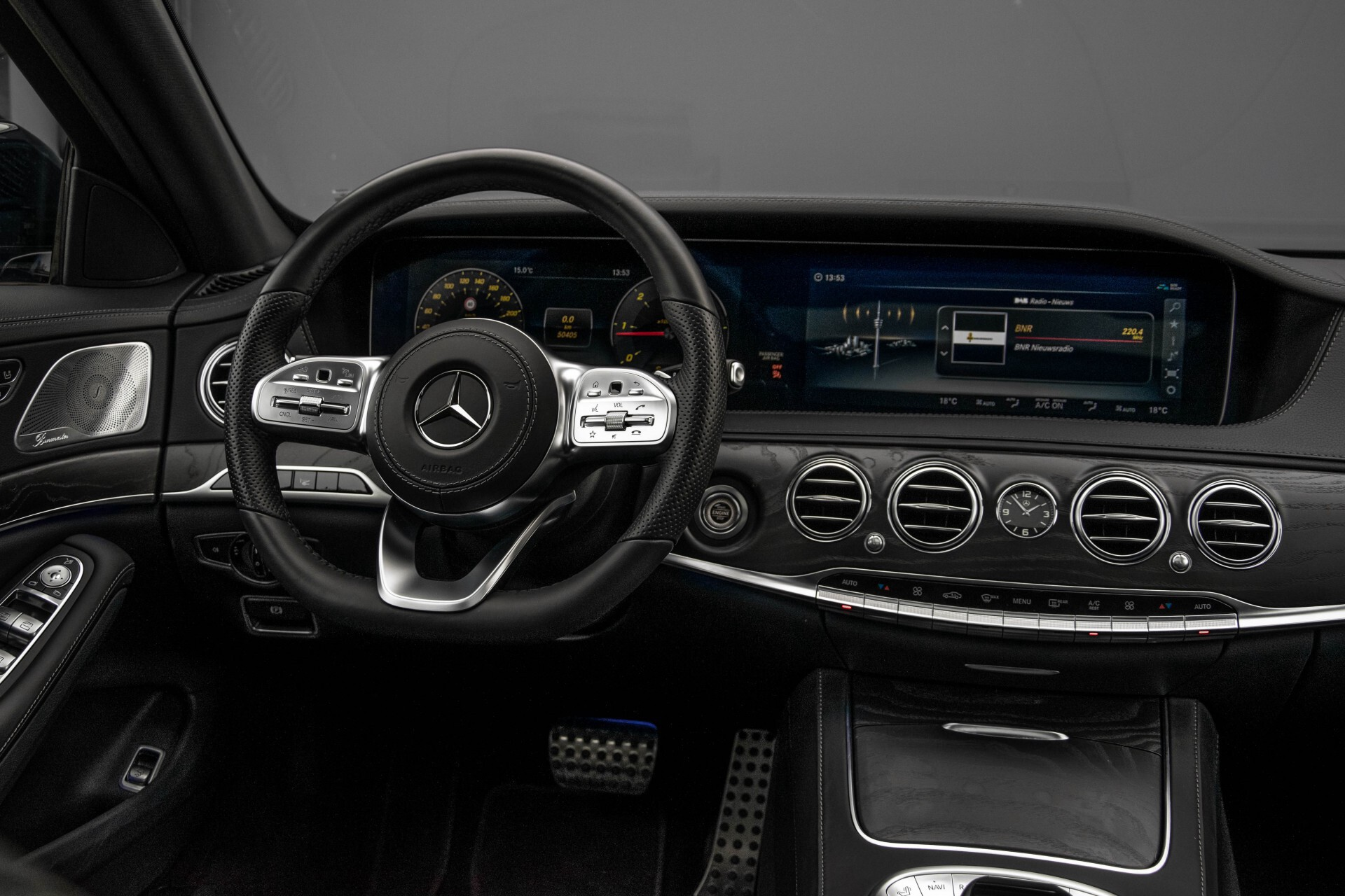 Mercedes-Benz S-Klasse 400d 4-M Lang AMG Night Massage/Panorama/Rij-assist/Nappa/Keyless Aut9 Foto 6