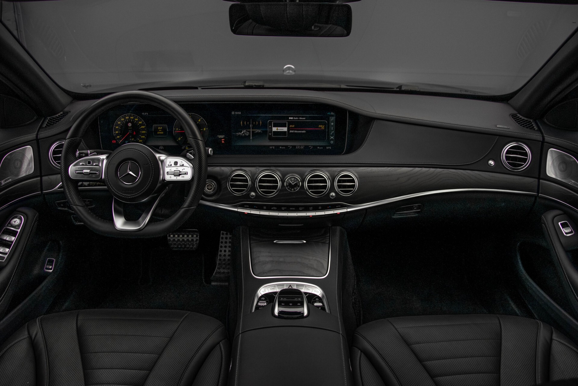 Mercedes-Benz S-Klasse 400d 4-M Lang AMG Night Massage/Panorama/Rij-assist/Nappa/Keyless Aut9 Foto 7