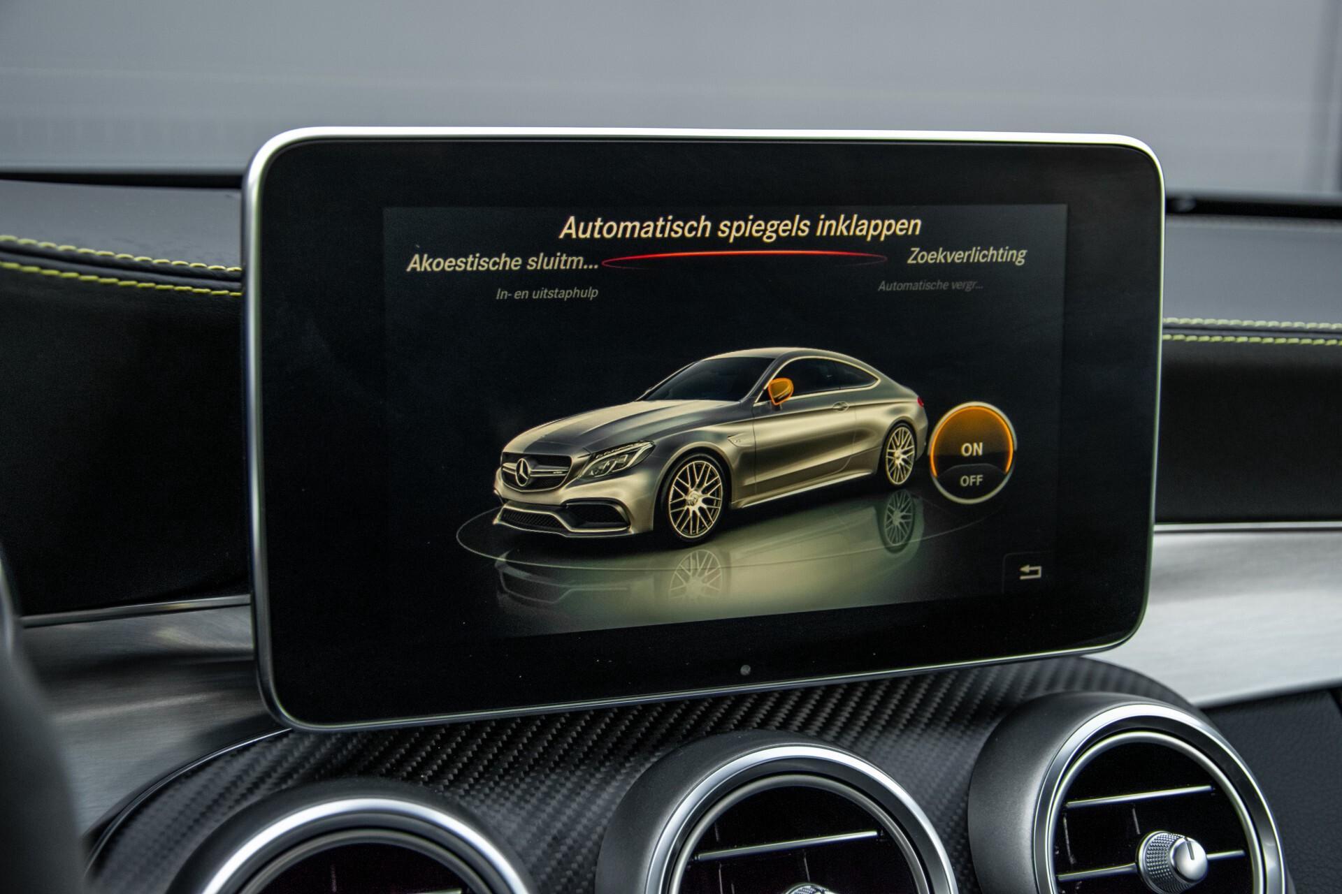 Mercedes-Benz C-Klasse Coupé 63 S AMG EDITION 1 Panorama Aut7 Foto 24
