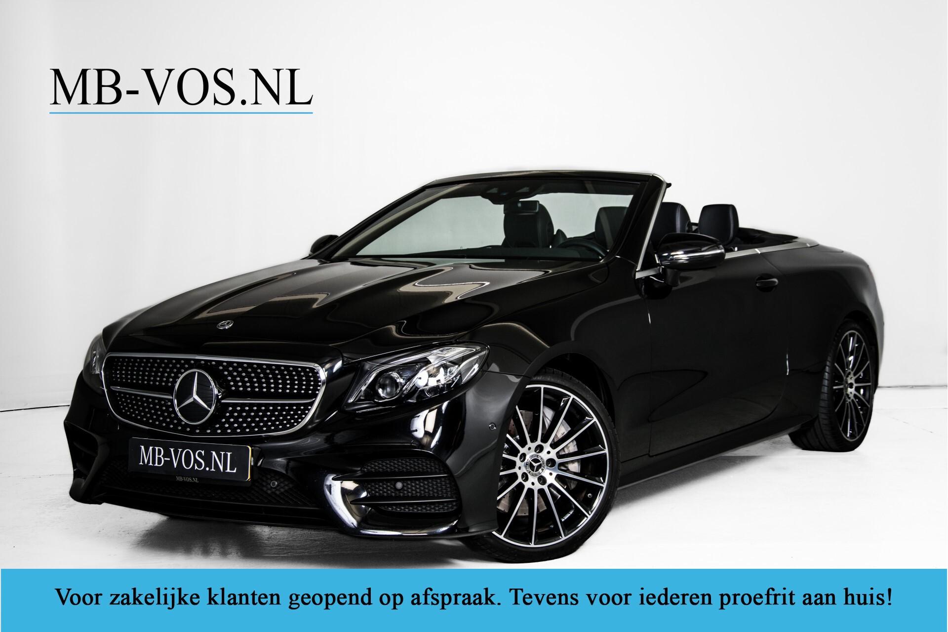 Mercedes-Benz E-Klasse Cabrio 350 AMG Night Distronic Pro/Burmester/Widescreen/Mem/Camera/Dynamic Body Aut9 Foto 1