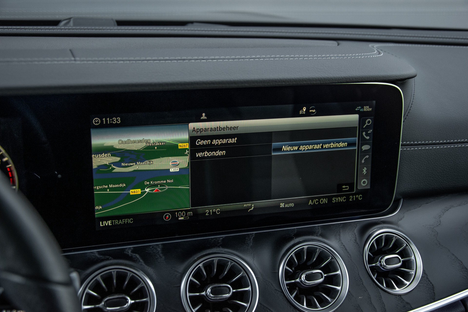 Mercedes-Benz E-Klasse Cabrio 350 AMG Night Distronic Pro/Burmester/Widescreen/Mem/Camera/Dynamic Body Aut9 Foto 18