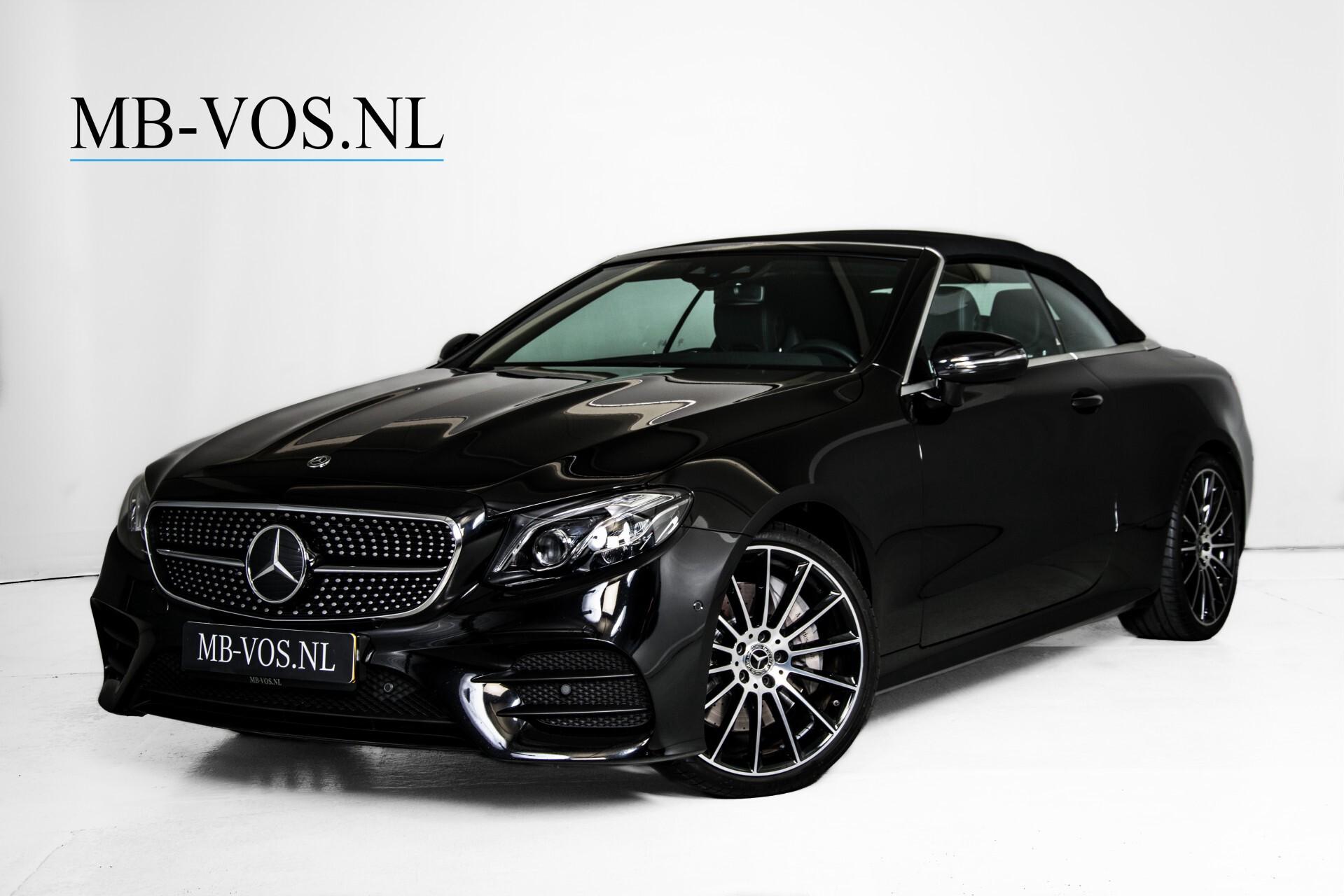 Mercedes-Benz E-Klasse Cabrio 350 AMG Night Distronic Pro/Burmester/Widescreen/Mem/Camera/Dynamic Body Aut9 Foto 2