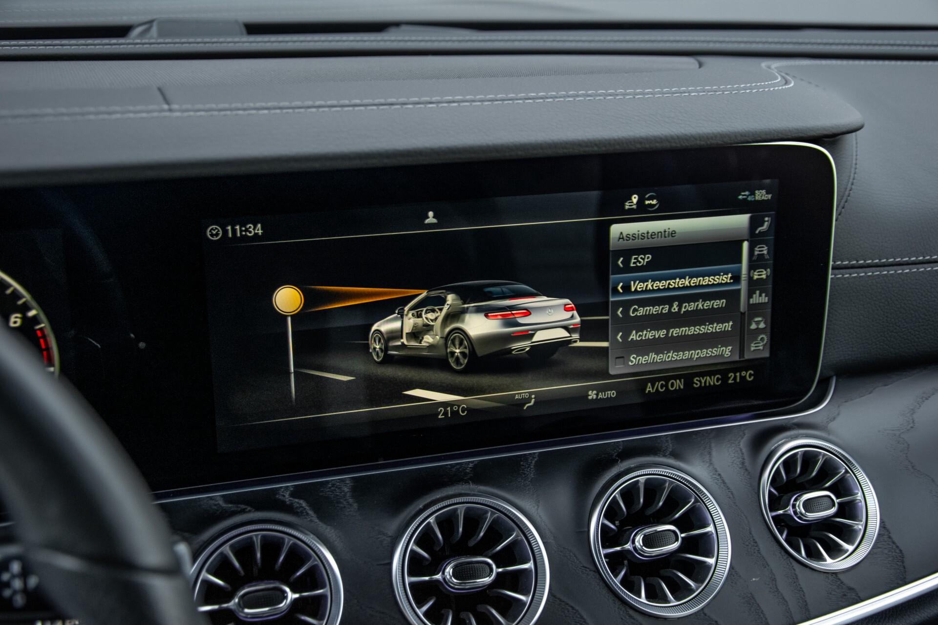 Mercedes-Benz E-Klasse Cabrio 350 AMG Night Distronic Pro/Burmester/Widescreen/Mem/Camera/Dynamic Body Aut9 Foto 26