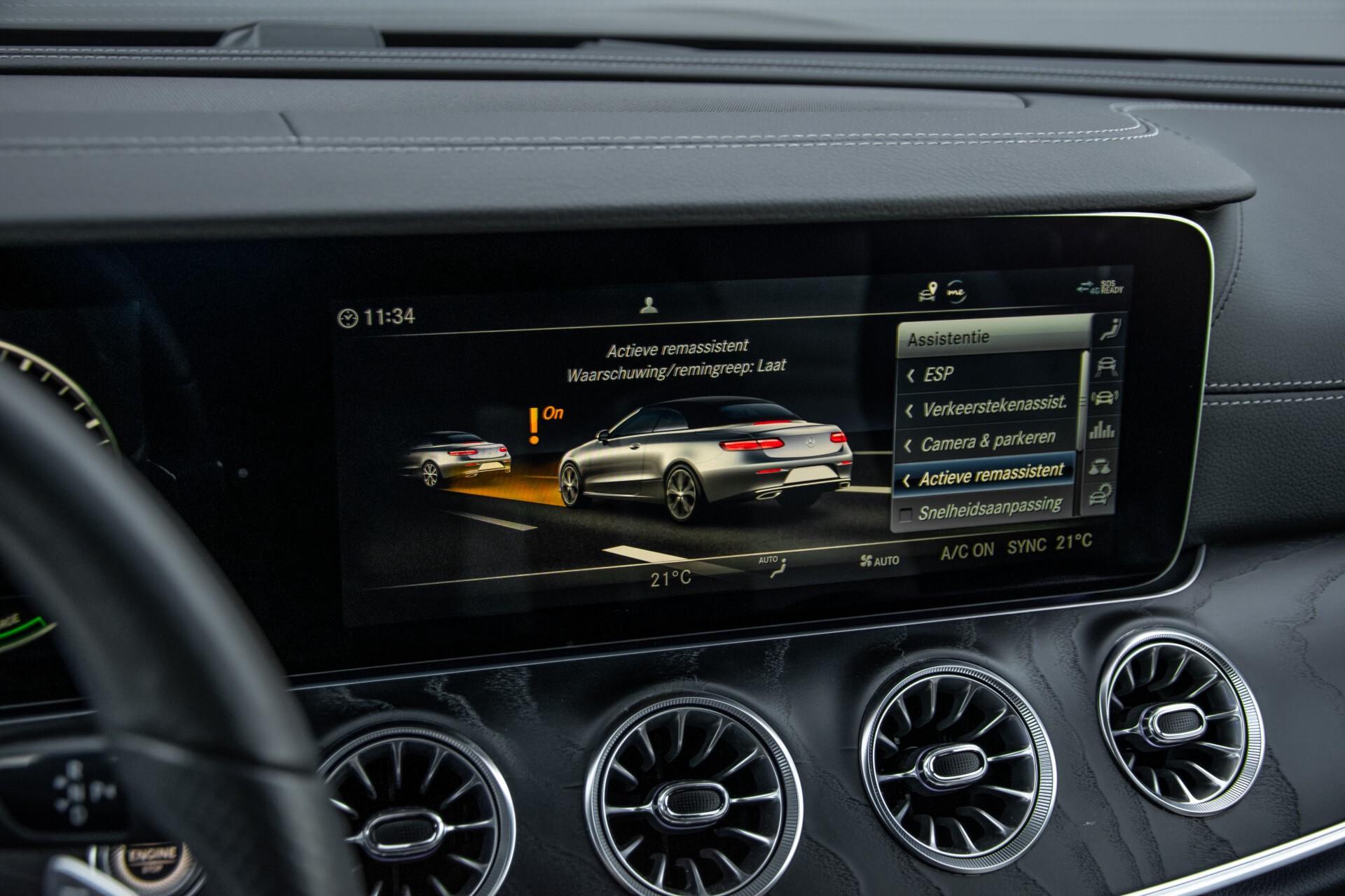 Mercedes-Benz E-Klasse Cabrio 350 AMG Night Distronic Pro/Burmester/Widescreen/Mem/Camera/Dynamic Body Aut9 Foto 30
