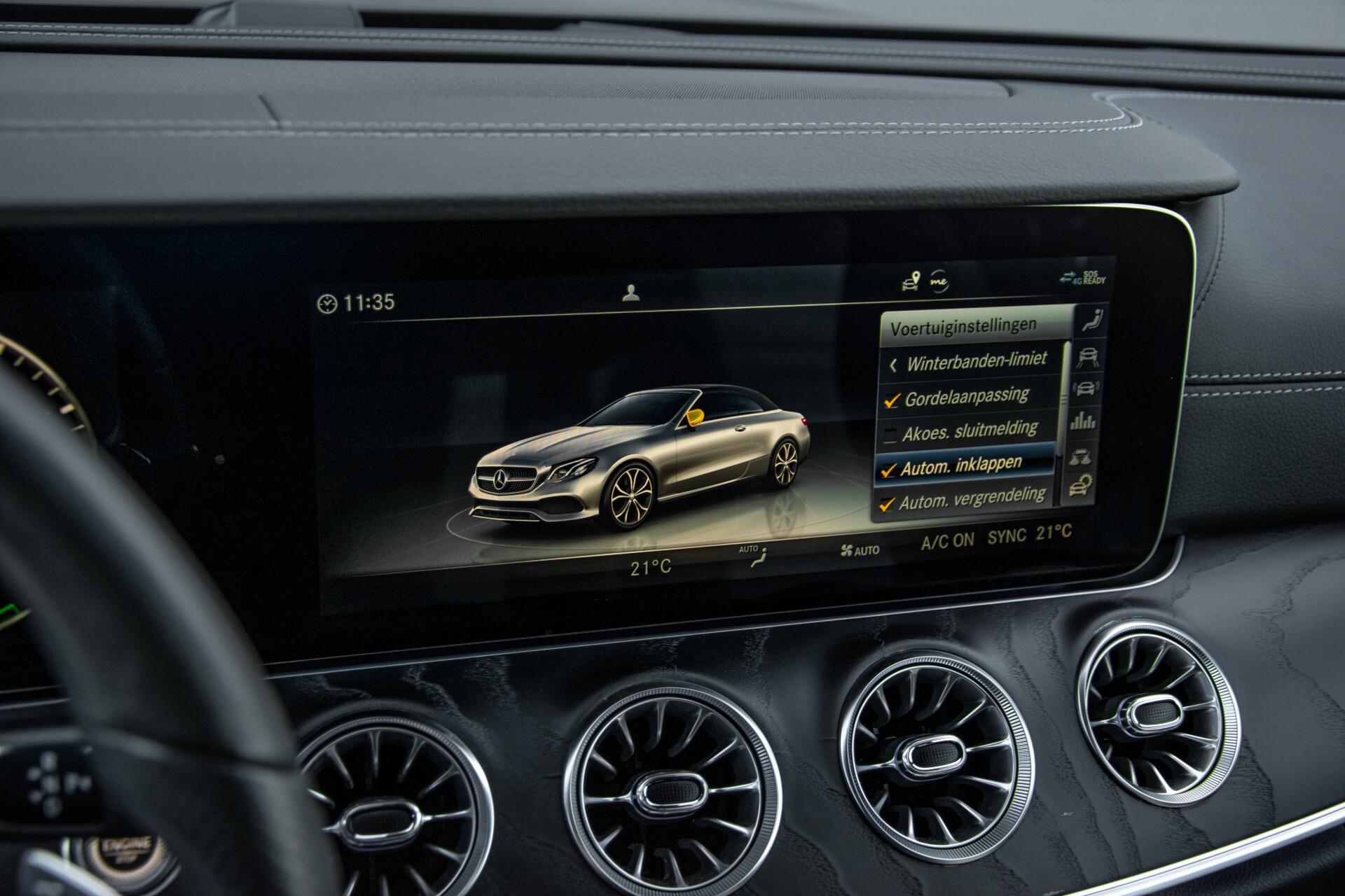 Mercedes-Benz E-Klasse Cabrio 350 AMG Night Distronic Pro/Burmester/Widescreen/Mem/Camera/Dynamic Body Aut9 Foto 34