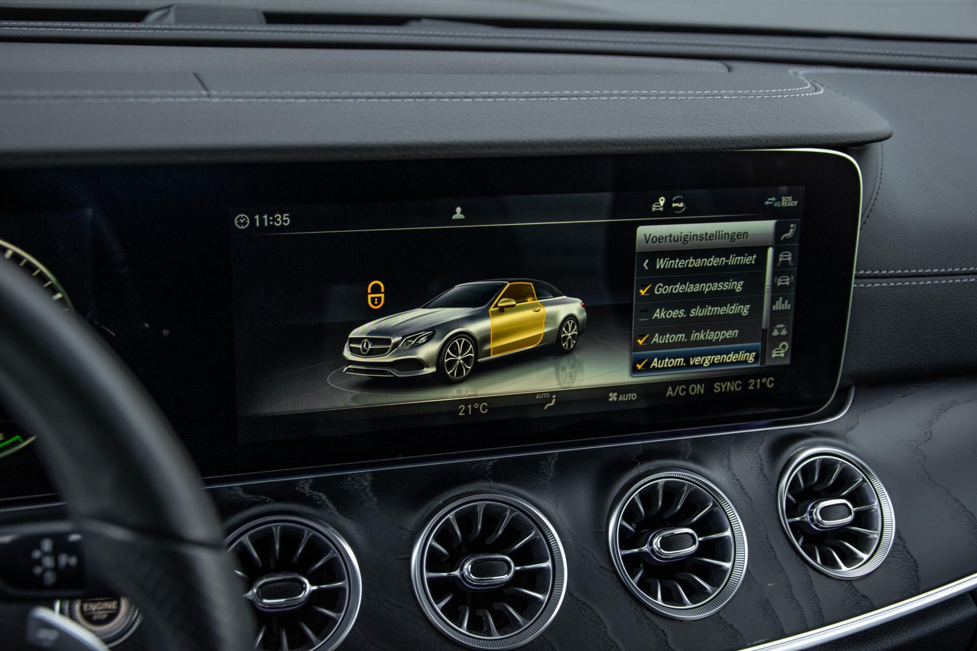 Mercedes-Benz E-Klasse Cabrio 350 AMG Night Distronic Pro/Burmester/Widescreen/Mem/Camera/Dynamic Body Aut9 Foto 36