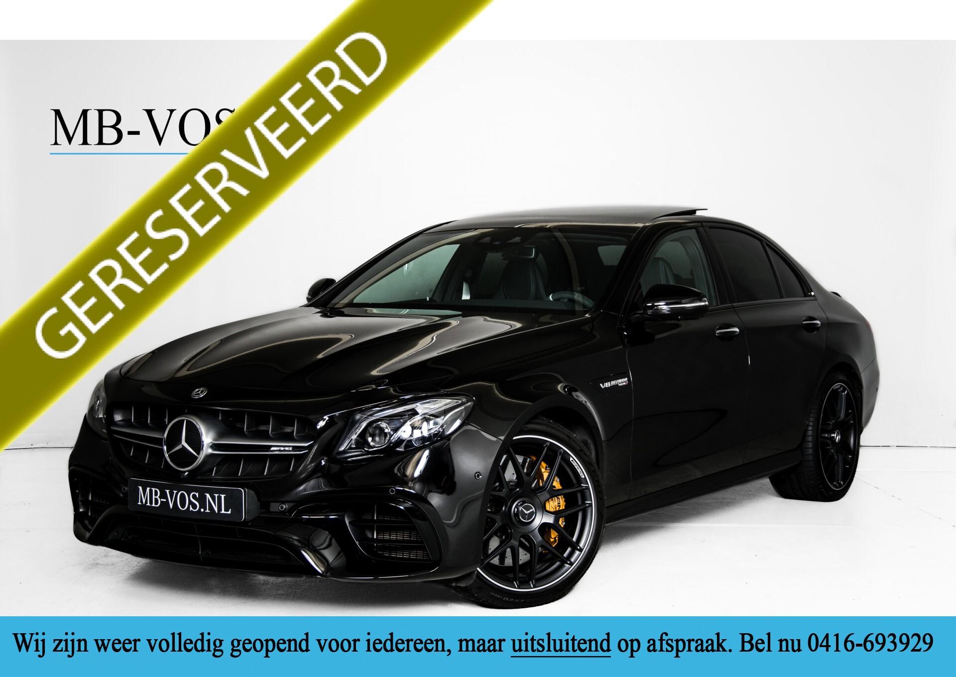 Mercedes-Benz E-Klasse 63 S AMG 4-M Keramisch/Performance Stoelen/Carbon/Standkachel Aut9 Foto 1