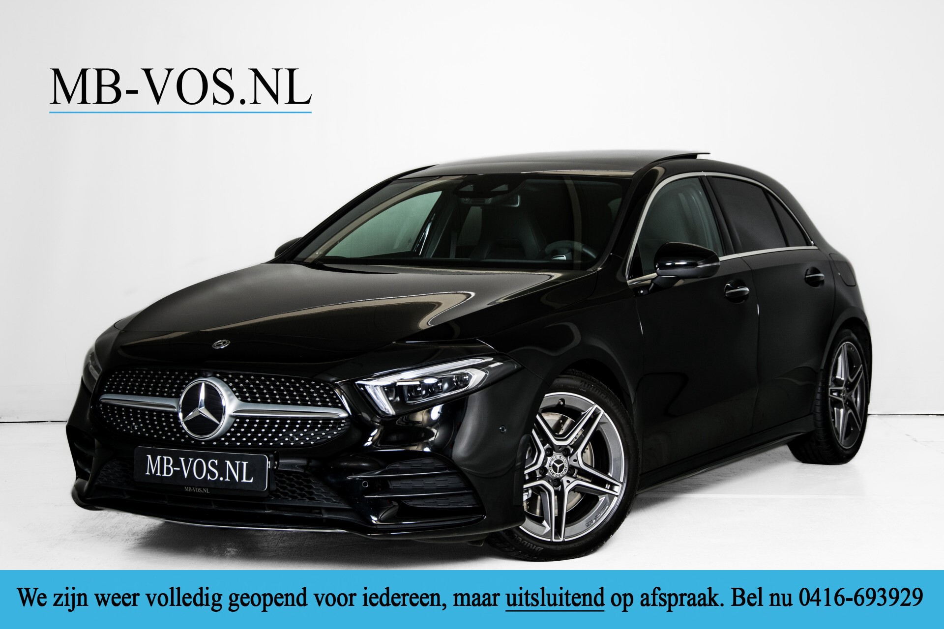 Mercedes-Benz A-Klasse 250 4-M AMG Panorama/Keyless-Entry/MBUX/HUD/Burmester/360/Multibeam LED Aut7 Foto 1