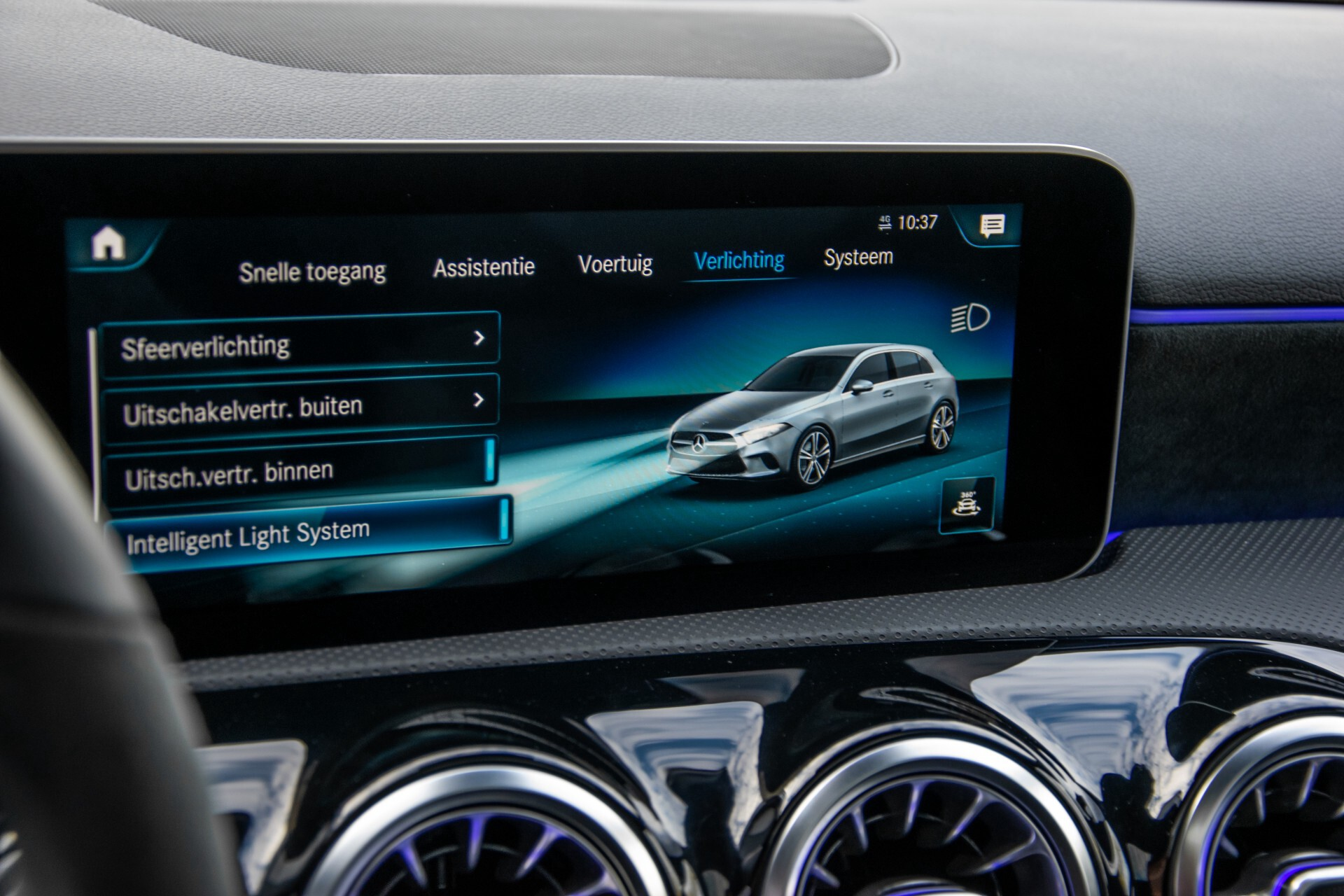 Mercedes-Benz A-Klasse 250 4-M AMG Panorama/Keyless-Entry/MBUX/HUD/Burmester/360/Multibeam LED Aut7 Foto 36