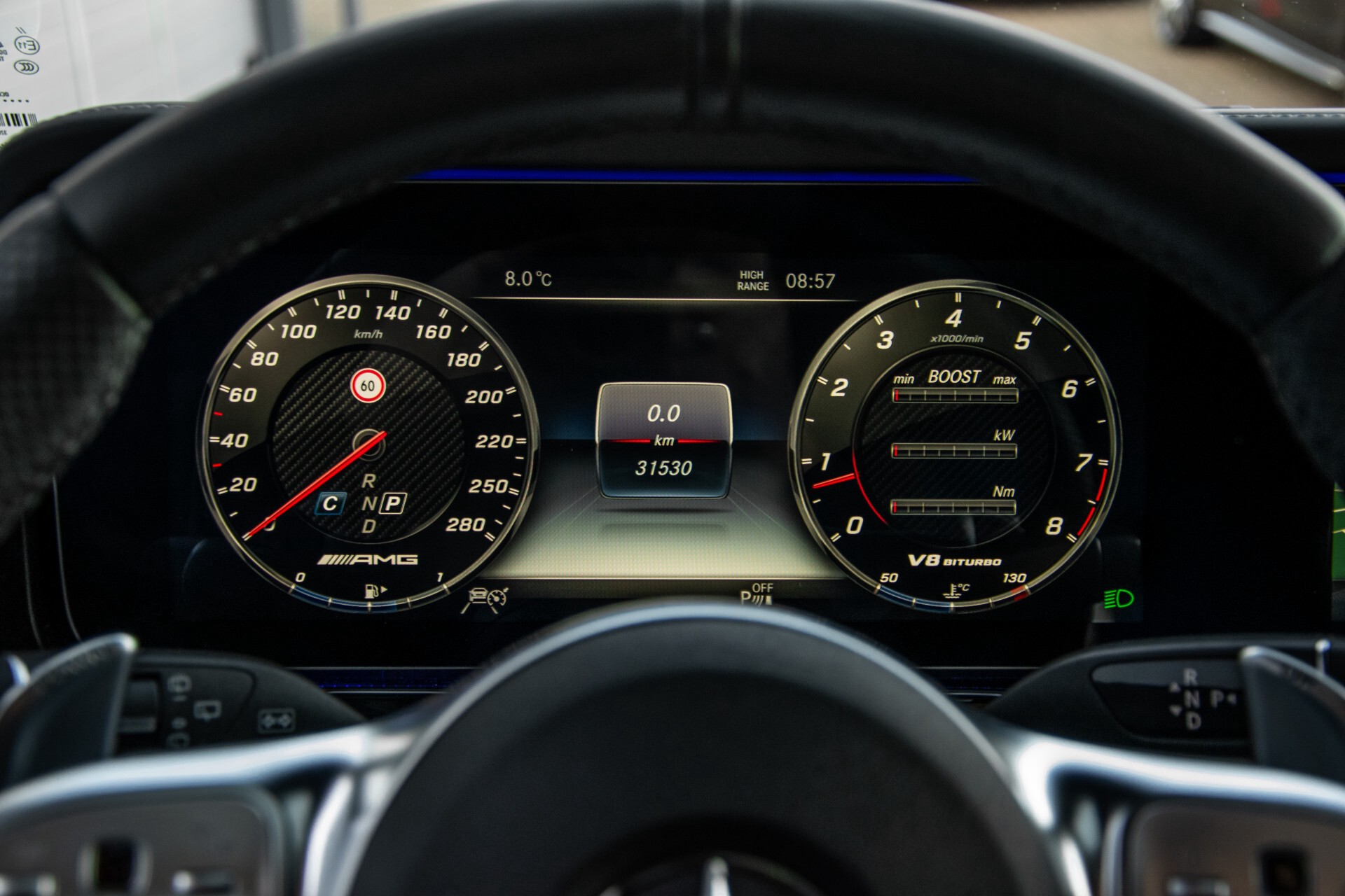 "Mercedes-Benz G-Klasse 63 AMG Night/Designo/Adaptive Cruise/Burmester/22""/Trekhaak/Massage/Exclusive Aut9 Foto 11"