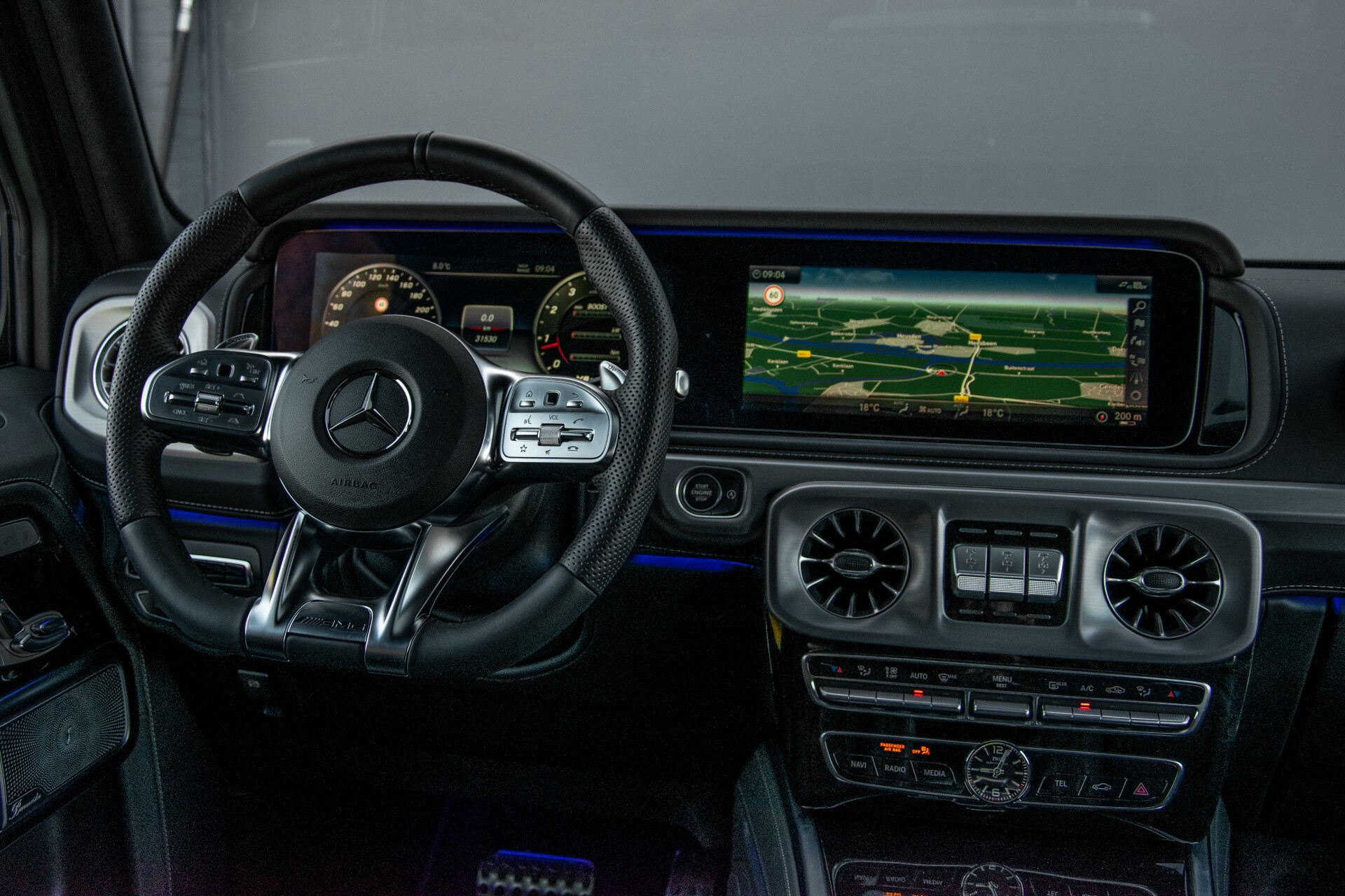 "Mercedes-Benz G-Klasse 63 AMG Night/Designo/Adaptive Cruise/Burmester/22""/Trekhaak/Massage/Exclusive Aut9 Foto 5"