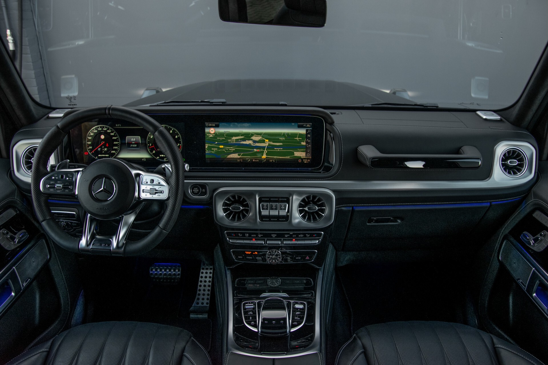 "Mercedes-Benz G-Klasse 63 AMG Night/Designo/Adaptive Cruise/Burmester/22""/Trekhaak/Massage/Exclusive Aut9 Foto 6"