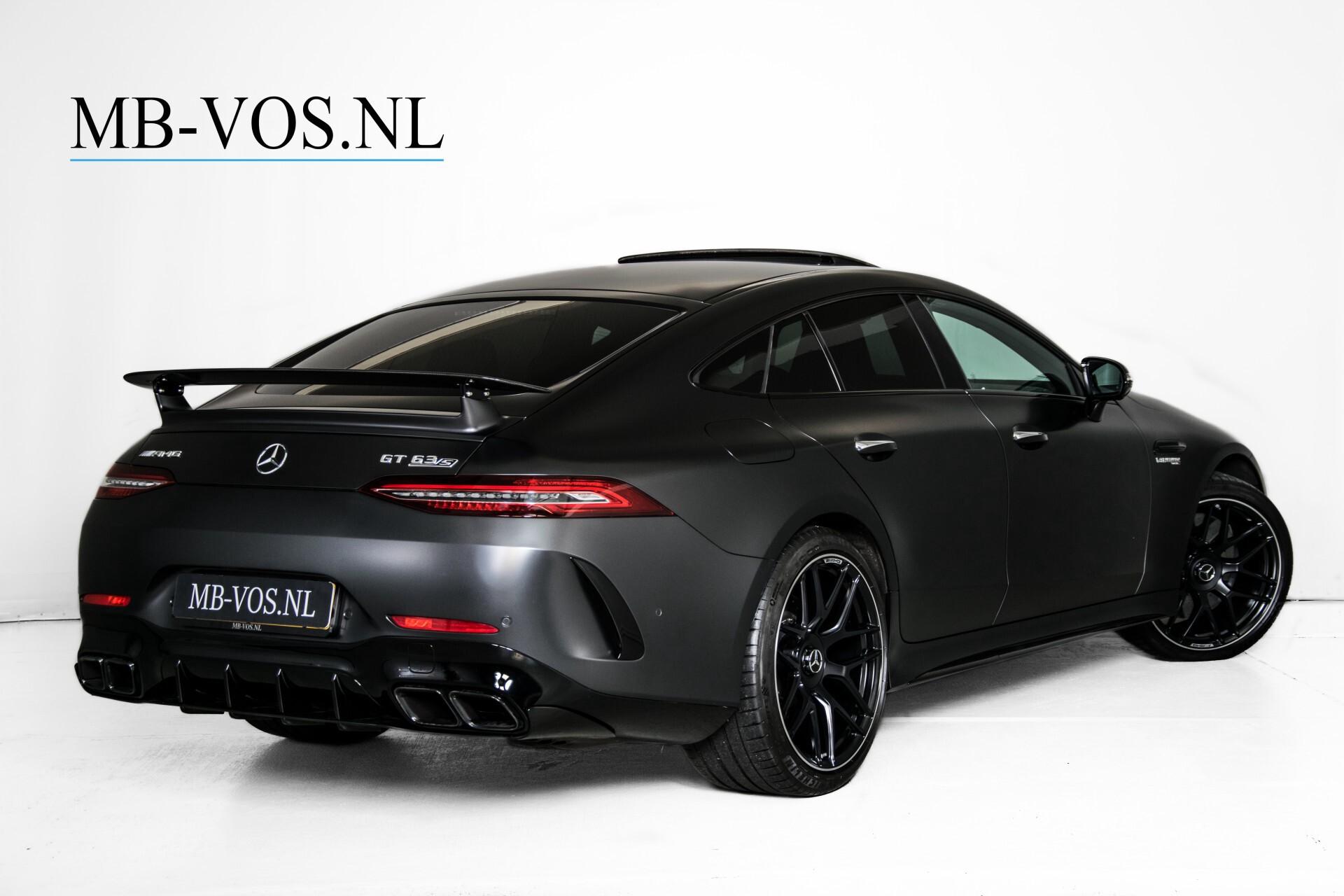 Mercedes-Benz AMG GT 4-Door Coupe 63 S 4M+ Keramisch/Full Carbon/Aerodynamica/Burmester 3D/TV/Performance stoelen/Standkachel Aut9 Foto 2