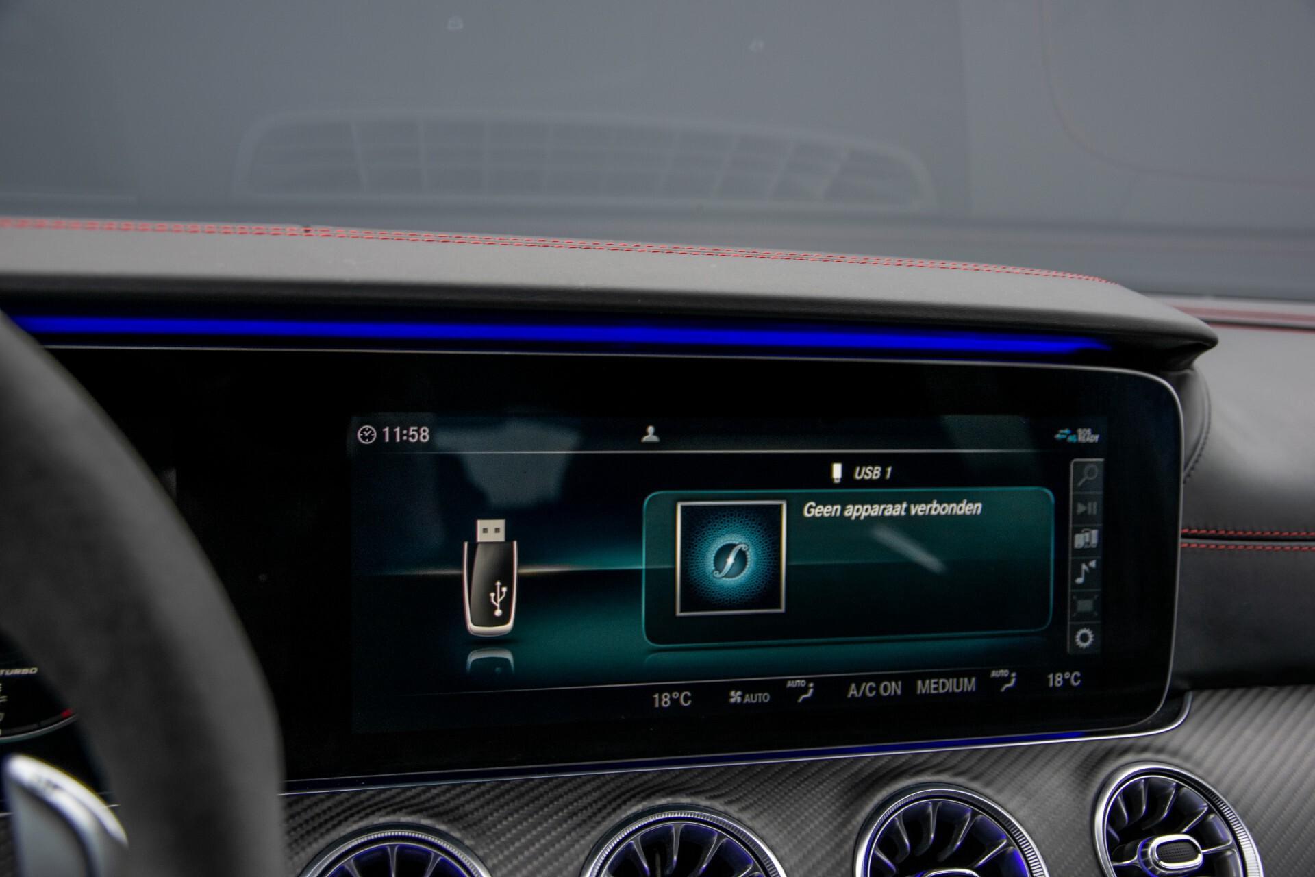 Mercedes-Benz AMG GT 4-Door Coupe 63 S 4M+ Keramisch/Full Carbon/Aerodynamica/Burmester 3D/TV/Performance stoelen/Standkachel Aut9 Foto 23