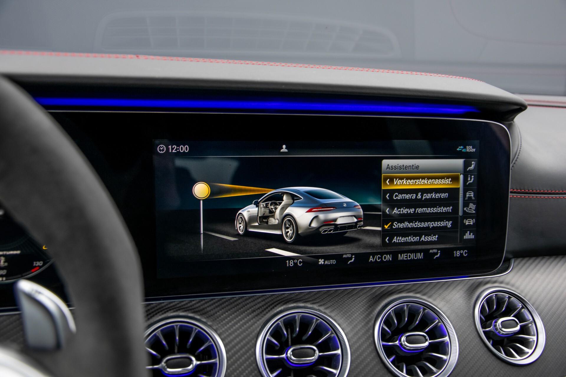 Mercedes-Benz AMG GT 4-Door Coupe 63 S 4M+ Keramisch/Full Carbon/Aerodynamica/Burmester 3D/TV/Performance stoelen/Standkachel Aut9 Foto 35