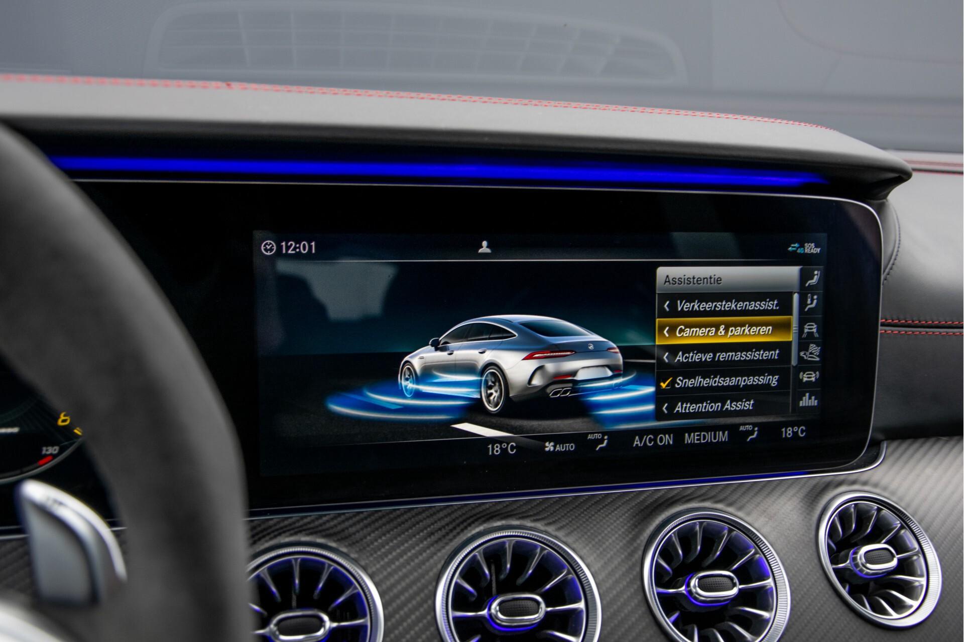 Mercedes-Benz AMG GT 4-Door Coupe 63 S 4M+ Keramisch/Full Carbon/Aerodynamica/Burmester 3D/TV/Performance stoelen/Standkachel Aut9 Foto 37