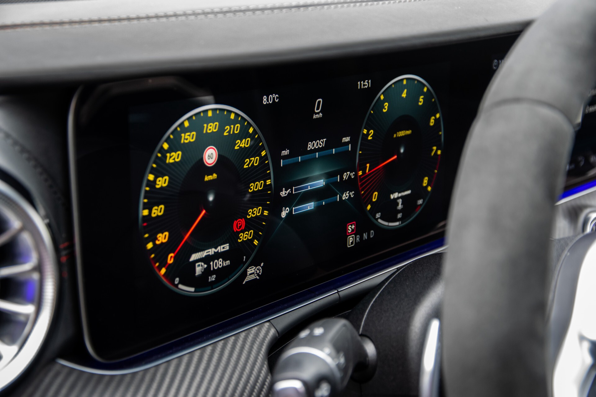 Mercedes-Benz AMG GT 4-Door Coupe 63 S 4M+ Keramisch/Full Carbon/Aerodynamica/Burmester 3D/TV/Performance stoelen/Standkachel Aut9 Foto 38