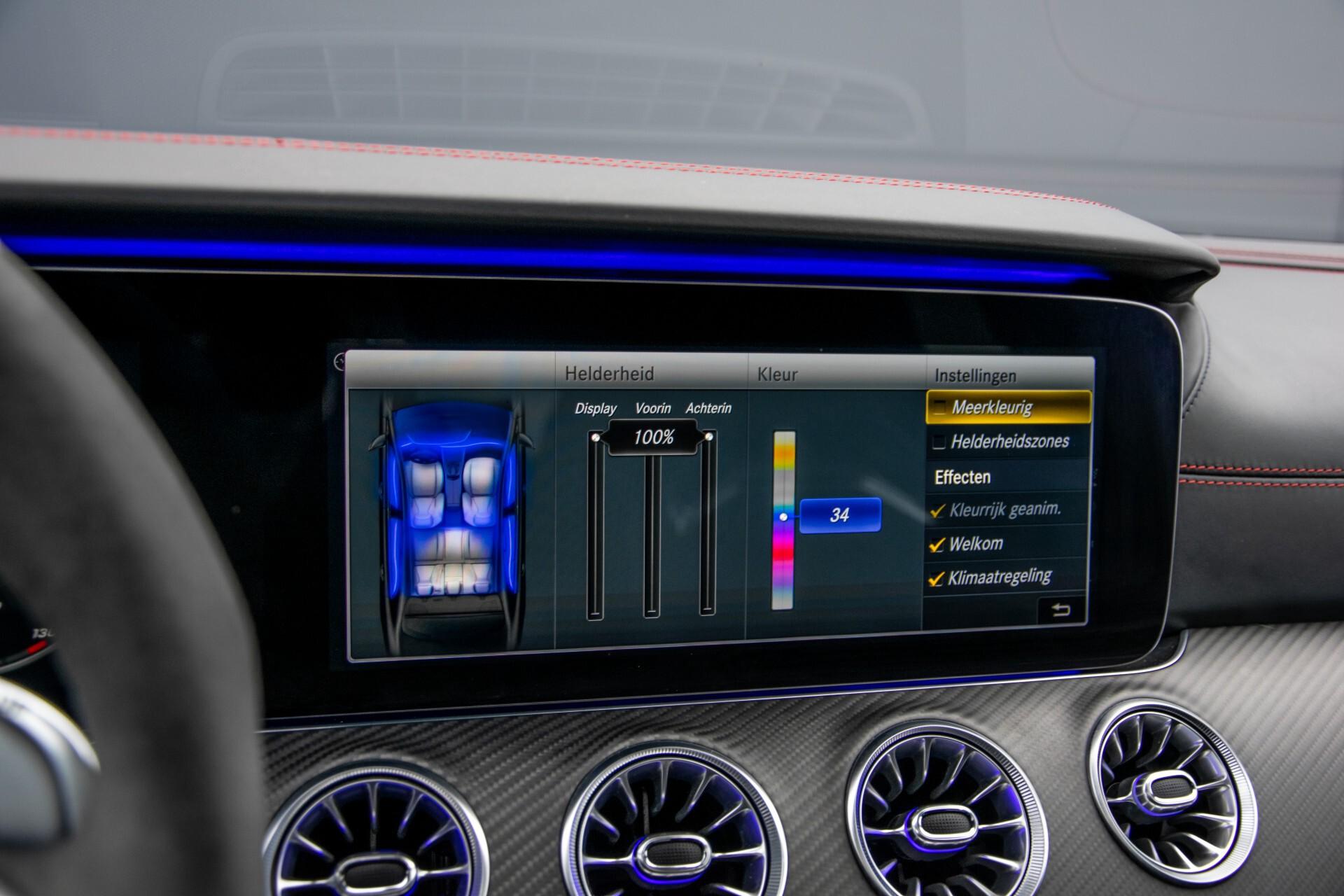 Mercedes-Benz AMG GT 4-Door Coupe 63 S 4M+ Keramisch/Full Carbon/Aerodynamica/Burmester 3D/TV/Performance stoelen/Standkachel Aut9 Foto 39